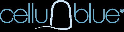 cellublue logo makeupbyazadig
