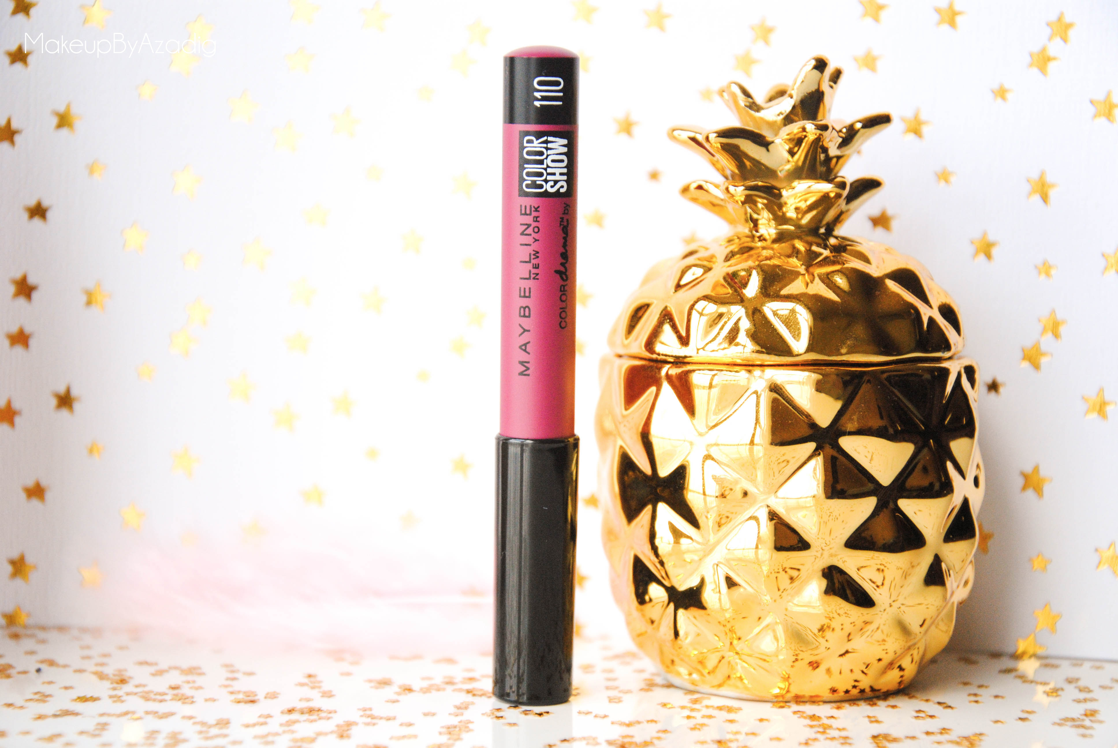 crayon-levres - colorshow - colordrama - gemey maybelline - teinte 110 - makeupbyazadig - prune -  produit