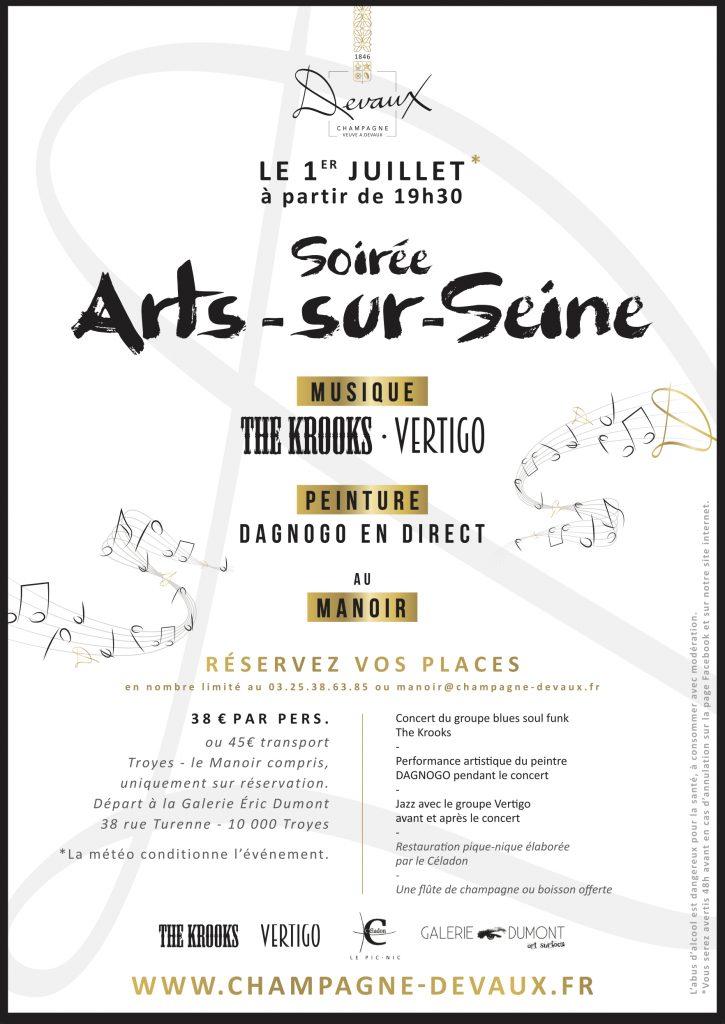 Champagne DEVAUX_Affiche ARTS_SUR_SEINE0107