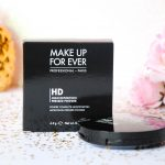 make up for ever - poudre compacte hd - poudre matifiante - sephora - makeupbyazadig - ensemble