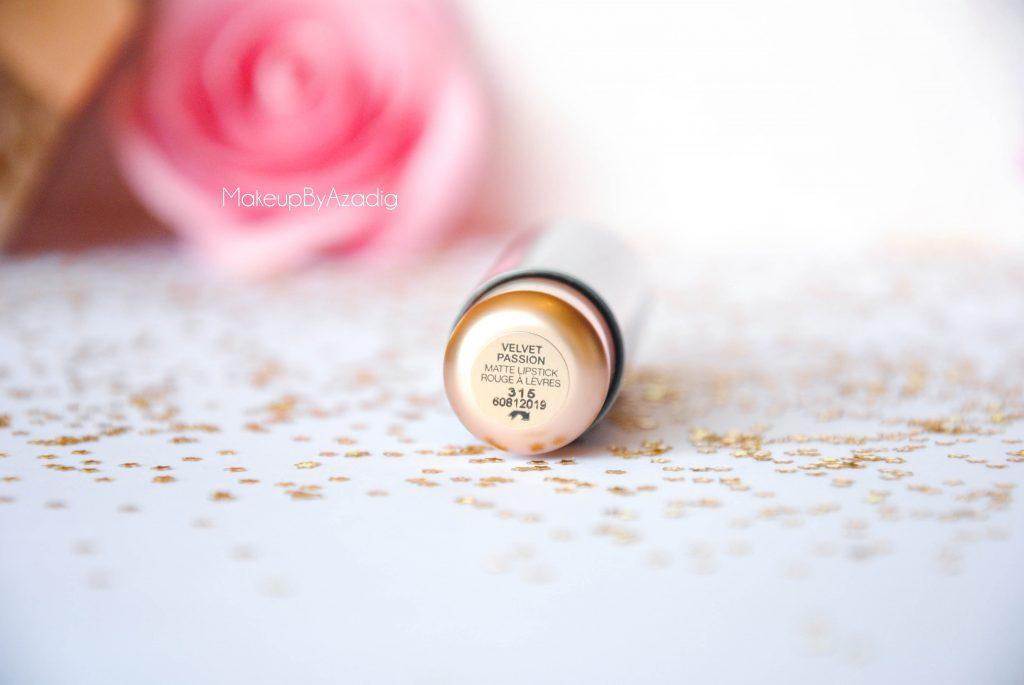 velvet passion matte kiko milano cosmetics beauty blogger makeupbyazadig rouge a levres info