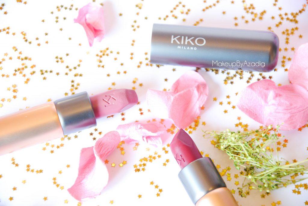 velvet passion matte kiko milano cosmetics beauty blogger makeupbyazadig rouge a levres mat