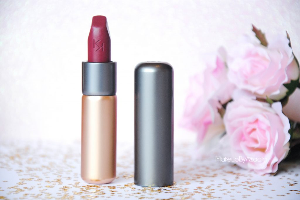 velvet passion matte kiko milano cosmetics beauty blogger makeupbyazadig rouge a levres red