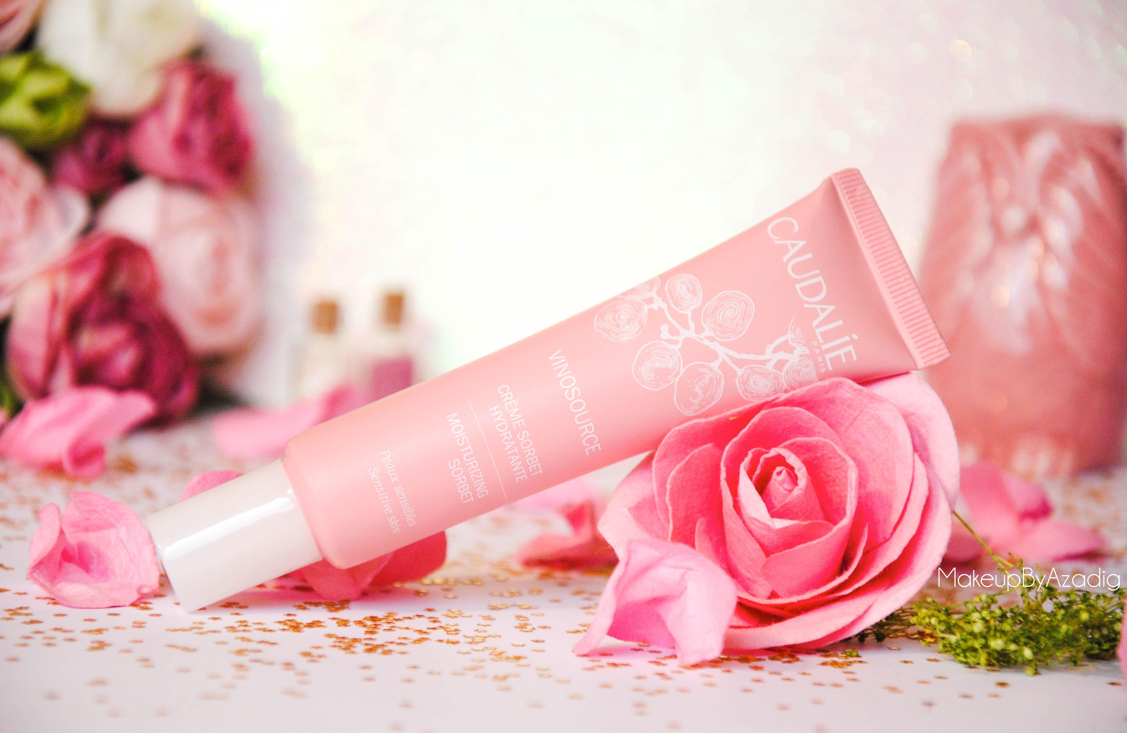 creme hydratante vinosource caudalie avis revue doctipharma makeupbyazadig pink