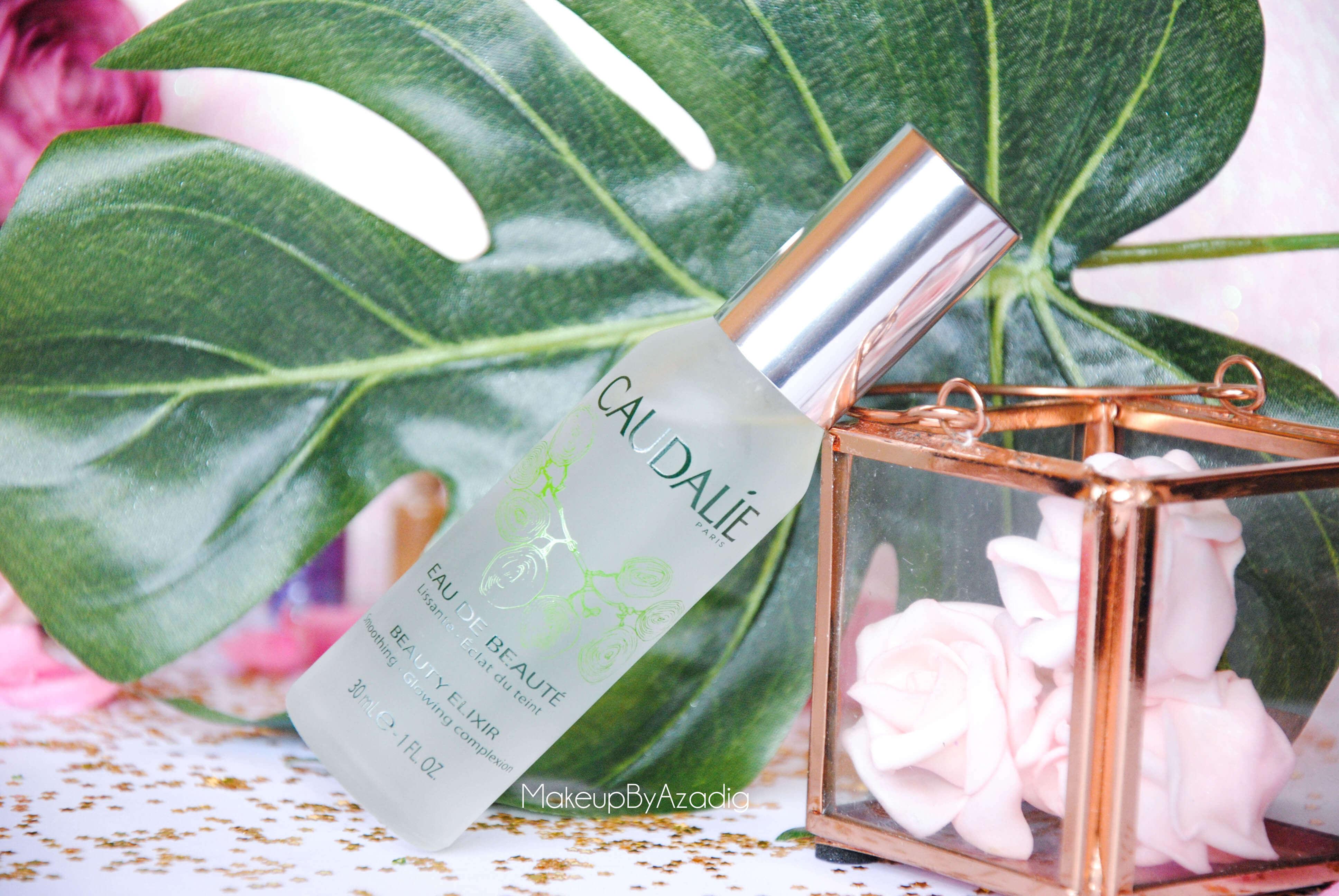 eau de beaute - caudalie - sanoflore - eau florale - produits de parapharmacie - makeupbyazadig - blog troyes - doctipharma