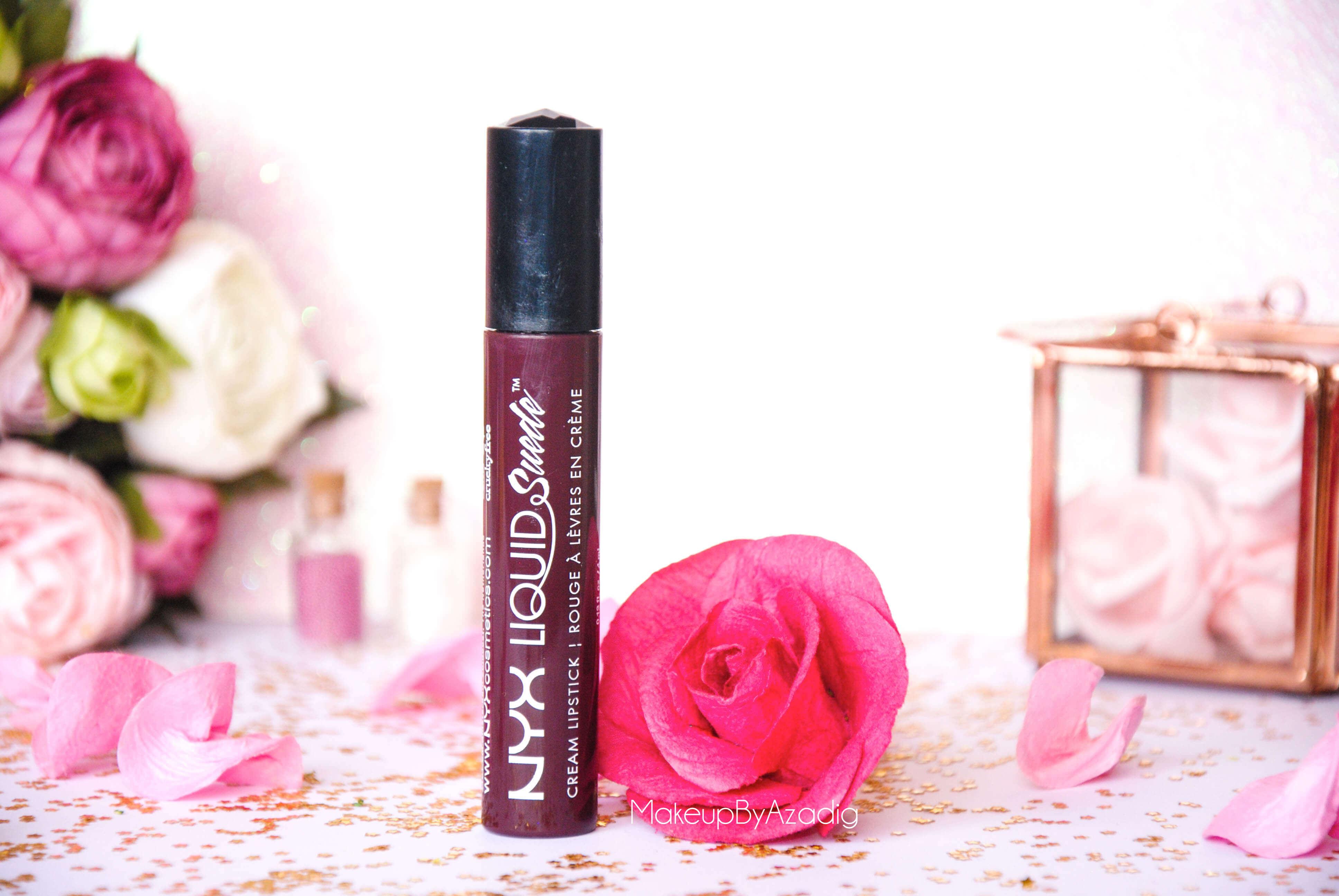 liquid suede-makeupbyazadig-swatch-nyx-cosmetics-pink lust-sway-stone fox-soft spoken-orange cunty-sandstorm-amethyst-lipstick-sway-cherry skies-vintage-mi