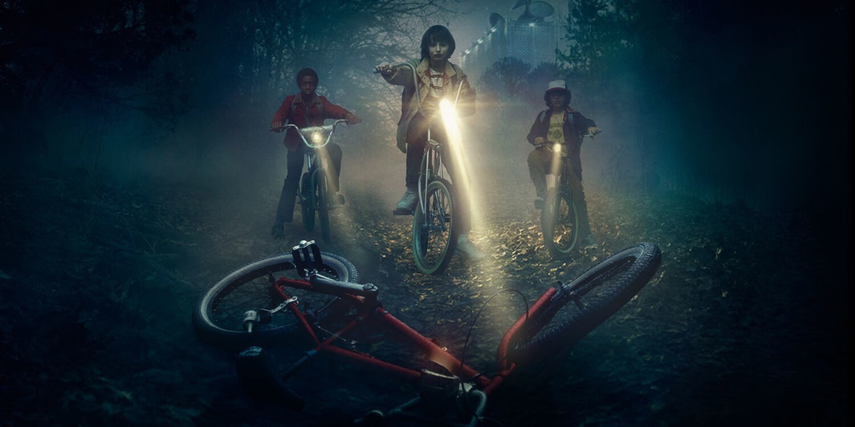 bikes-makeupbyazadig-stranger things-netflix-serie