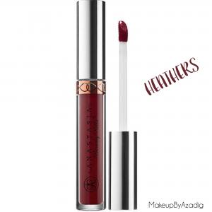 makeupbyazadig--anastasia-beverly-hills---france---sephora---liquid-lipstick---modern-renaissance---brow-powder---Heathers