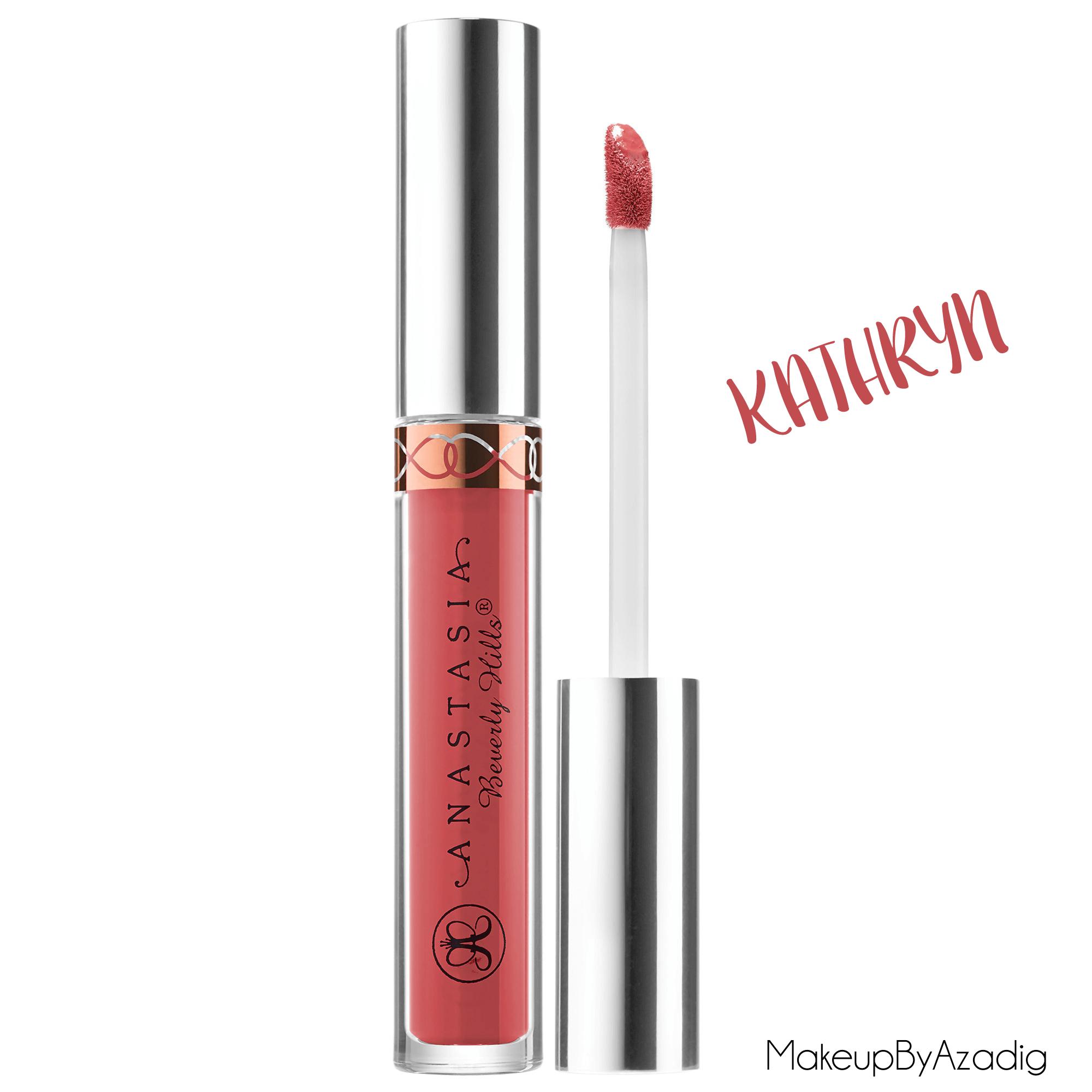 makeupbyazadig--anastasia-beverly-hills---france---sephora---liquid-lipstick---modern-renaissance---brow-powder--kathryn