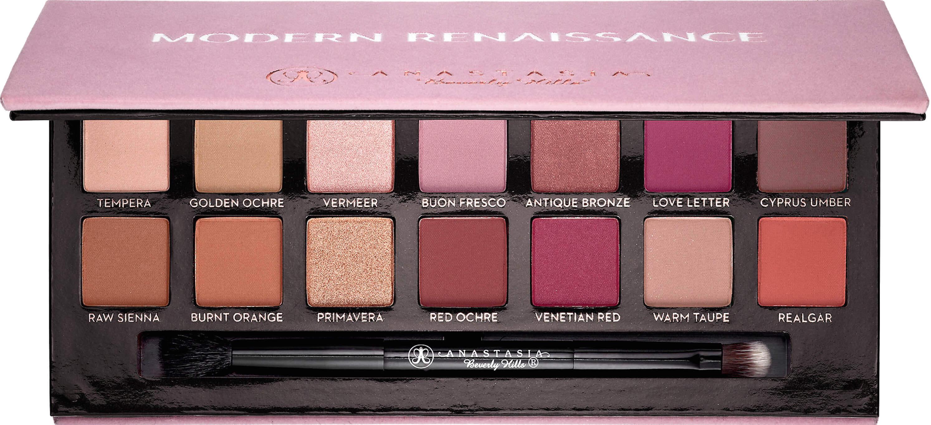 makeupbyazadig- anastasia beverly hills - france - sephora - liquid lipstick - modern renaissance - brow powder -modern
