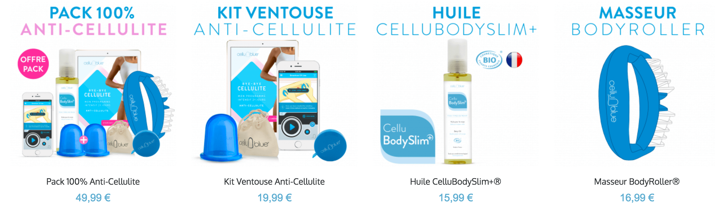 kit ventouse anti cellulite