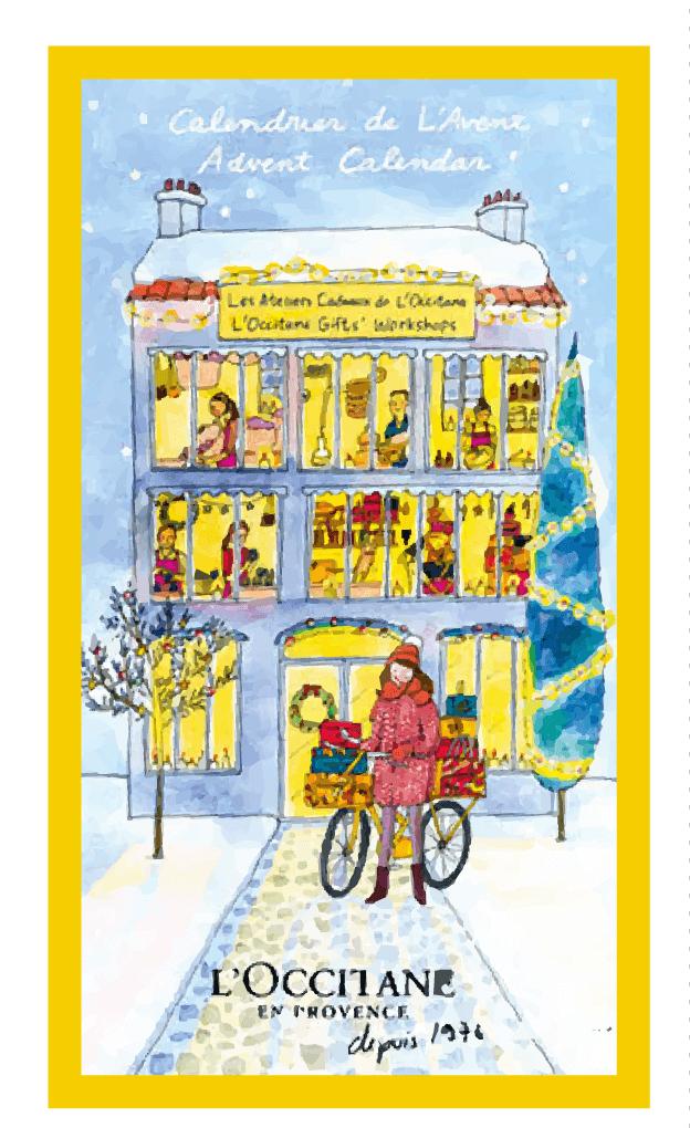 makeupbyazadig-calendar-packaging-blog-troyes-loveloccitane-calendrier-de-lavent-loccitane-decembre-cadeaux-pivoine-flora