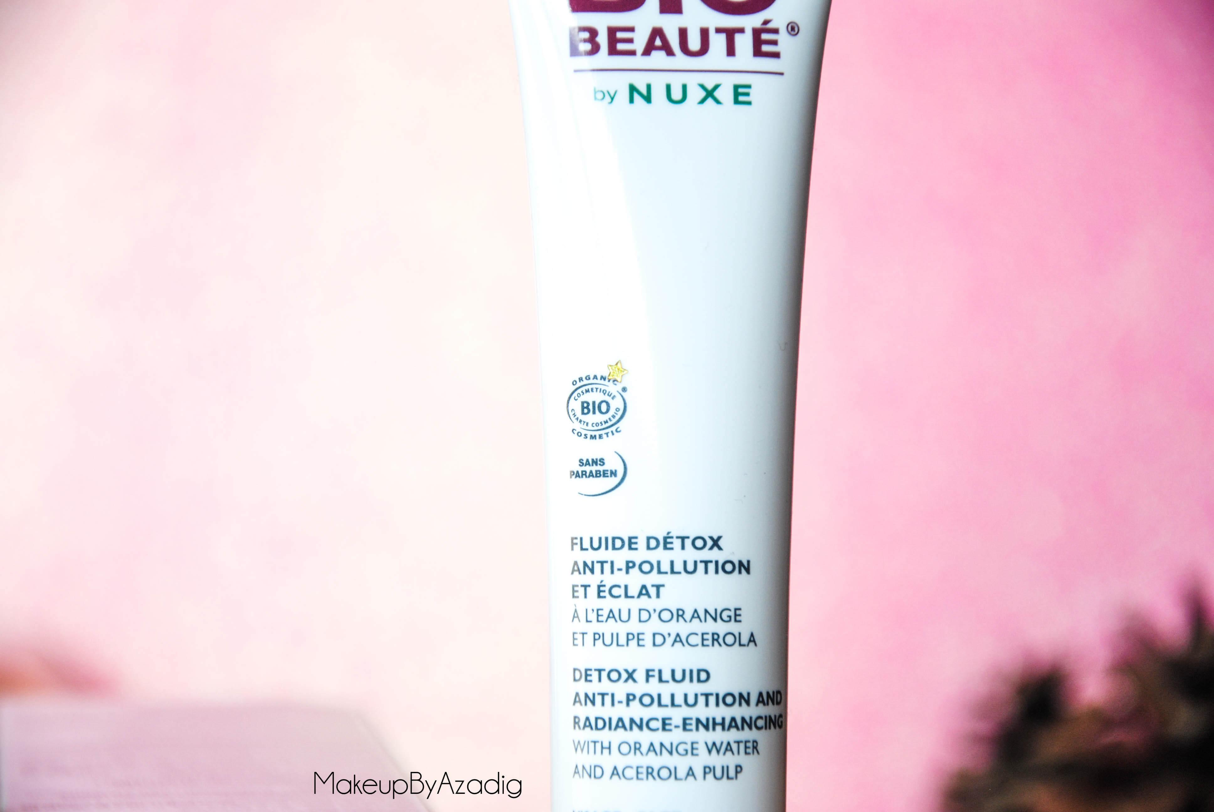bio-beaute-nuxe-lotion-fluide-creme-contour-des-yeux-masque-orange-acerola-doctipharma-routine-du-matin-detox-eclat-nouvelle-gamme-soin-troyes-paris-dijon-makeupbyazadig-blog-revue-review-certifie