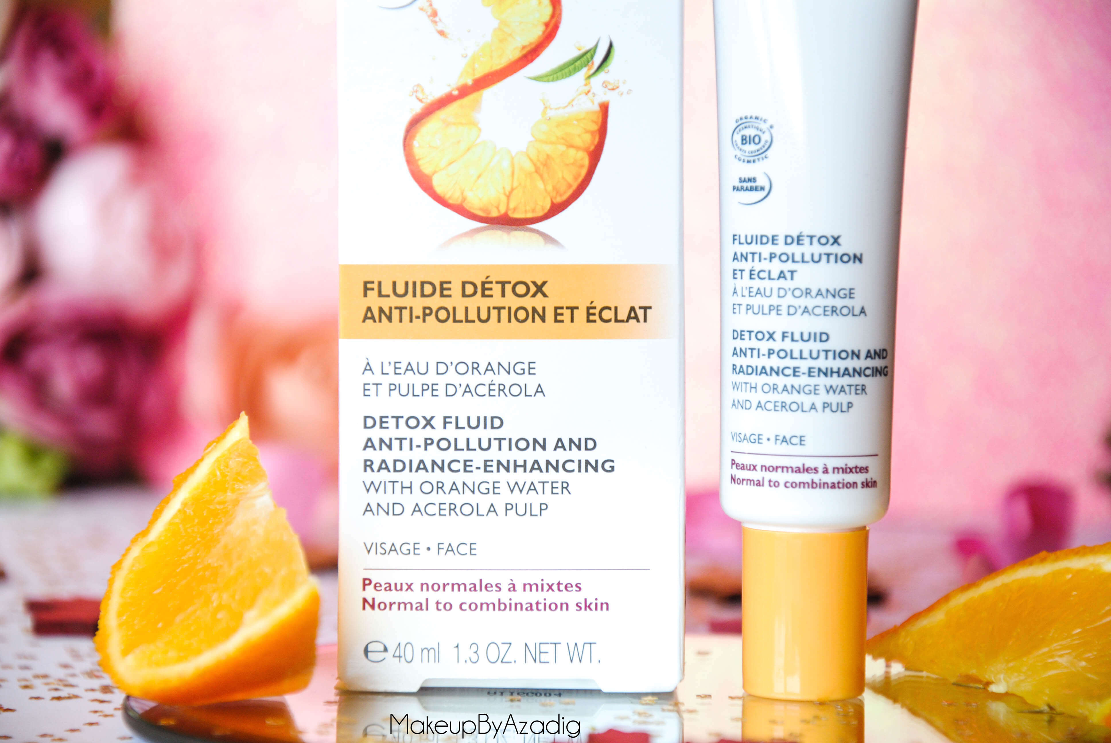 bio-beaute-nuxe-lotion-fluide-creme-contour-des-yeux-masque-orange-acerola-doctipharma-routine-du-matin-detox-eclat-soin-troyes-paris-makeupbyazadig-blog-revue-review-anti-pollution-monoprix