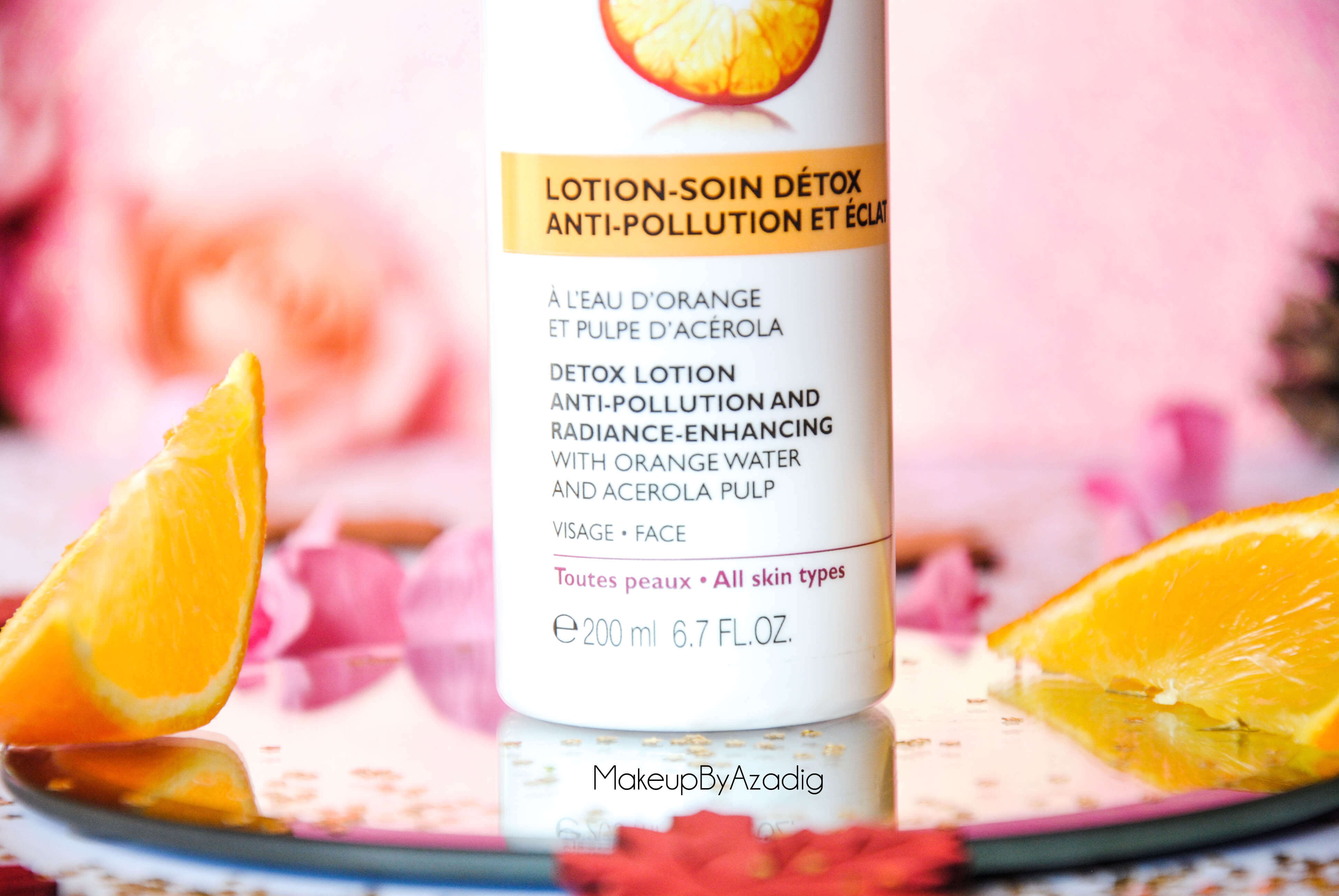 bio-beaute-nuxe-lotion-fluide-creme-contour-des-yeux-masque-orange-acerola-doctipharma-routine-du-matin-detox-eclat-soin-troyes-paris-makeupbyazadig-blog-revue-review-anti-pollution-partenariat