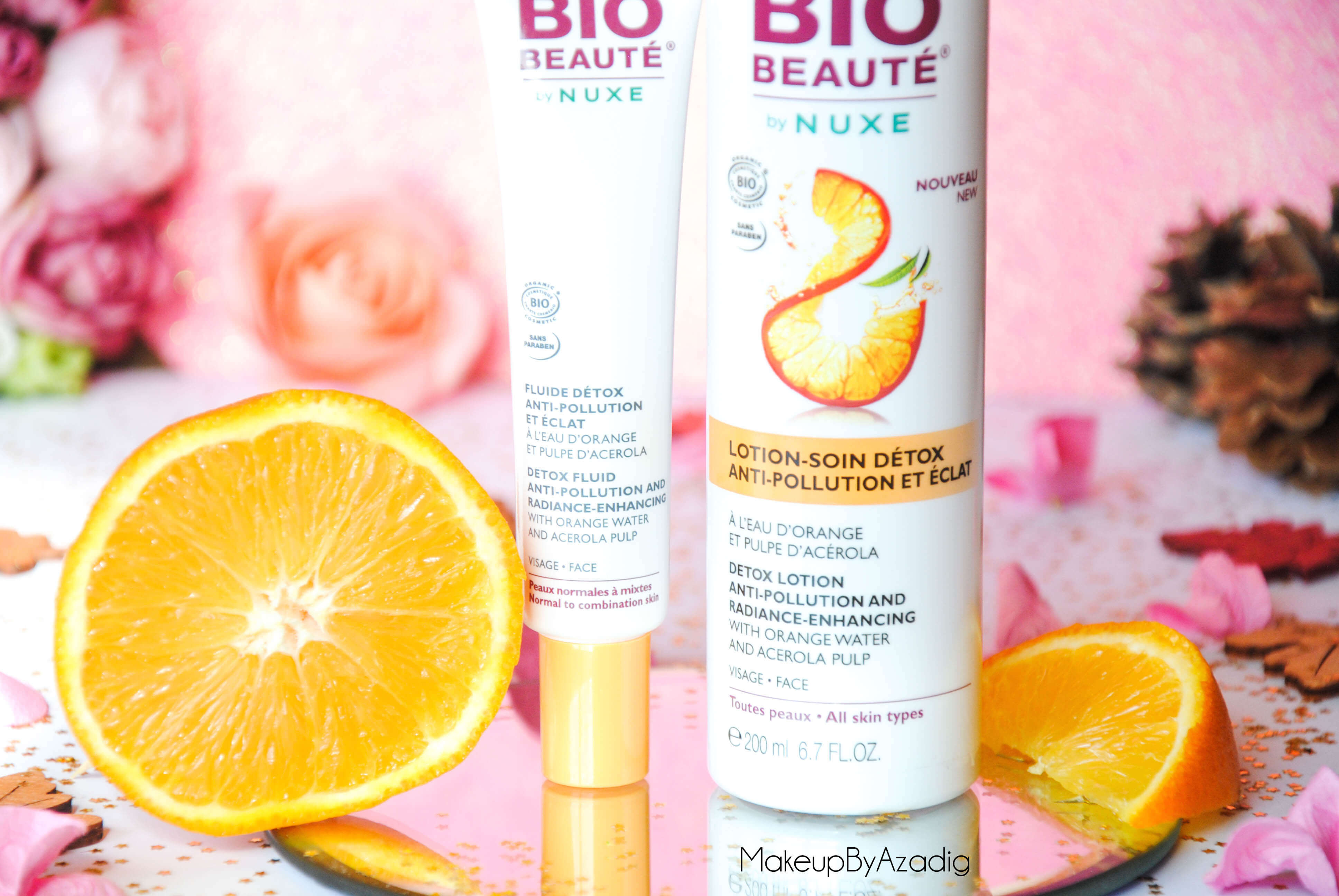 bio-beaute-nuxe-lotion-fluide-creme-contour-des-yeux-masque-orange-acerola-doctipharma-routine-du-matin-detox-soin-troyes-paris-makeupbyazadig-blog-revue-review-anti-pollution-peau-douce