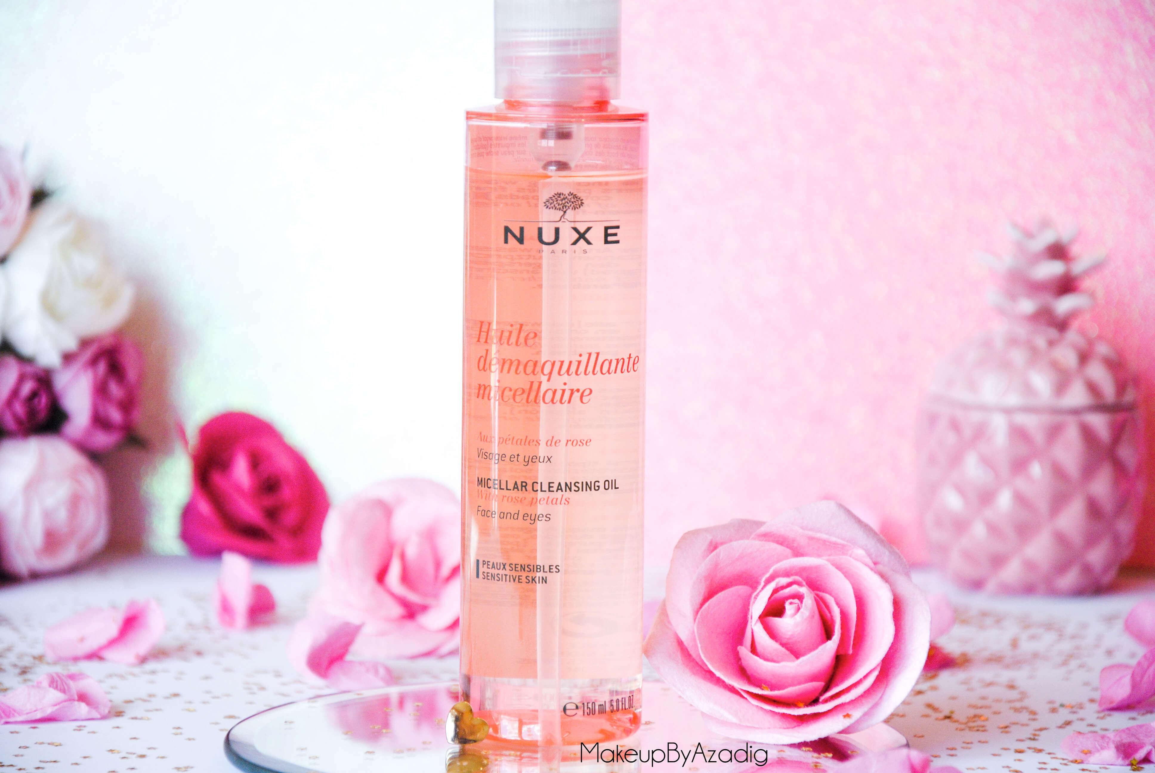 makeupbyazadig-huile-demaquillante-micellaire-nuxe-petales-de-rose-doctipharma-revue-avis-prix-best