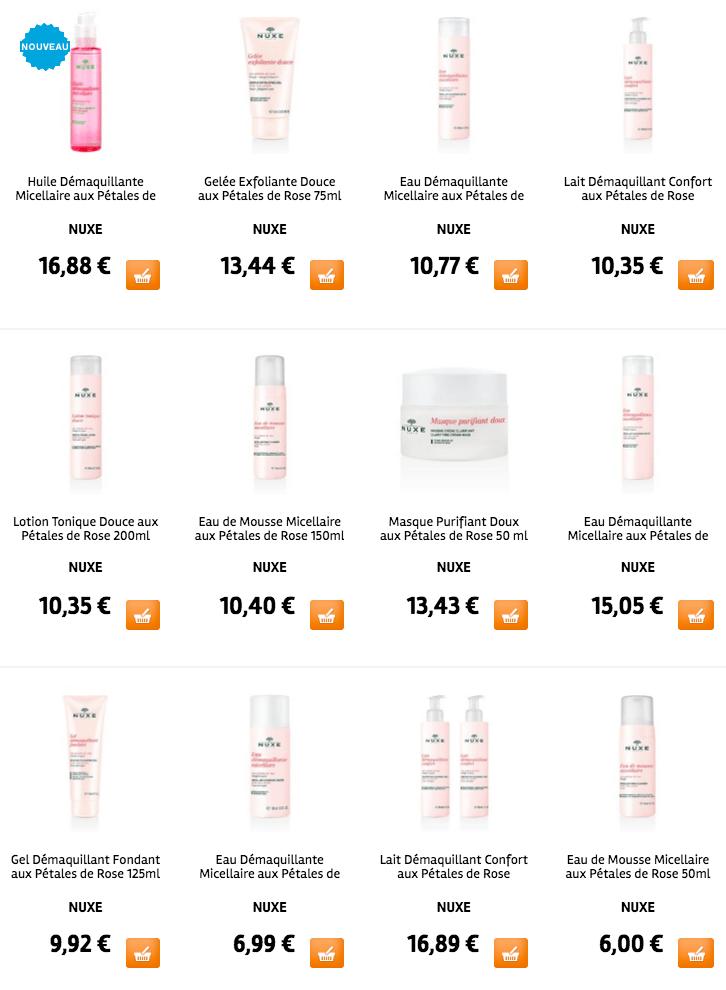 makeupbyazadig-huile-demaquillante-micellaire-nuxe-petales-de-rose-doctipharma-revue-avis-prix-gamme