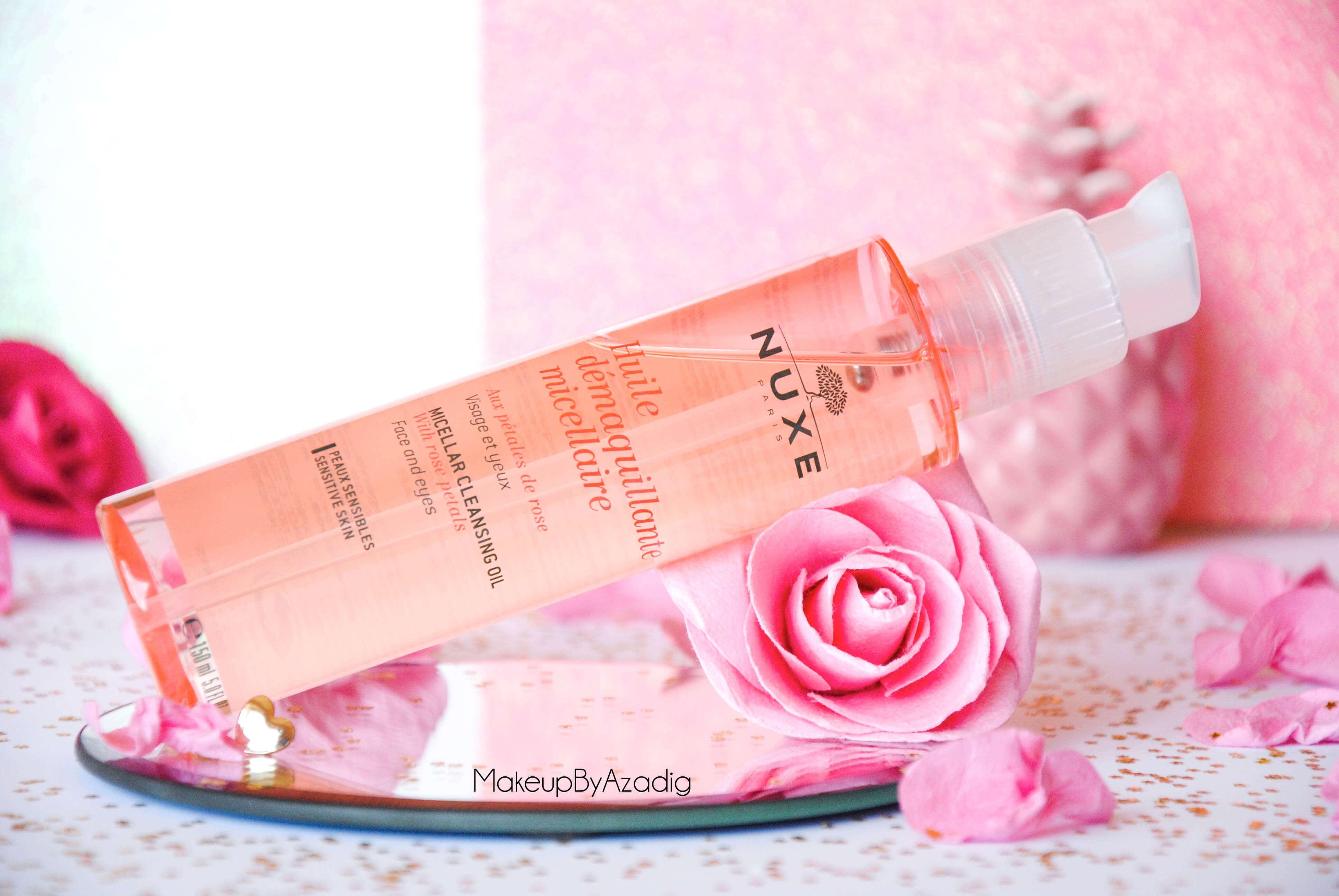 makeupbyazadig-huile-demaquillante-micellaire-nuxe-petales-de-rose-doctipharma-revue-avis-prix-paris