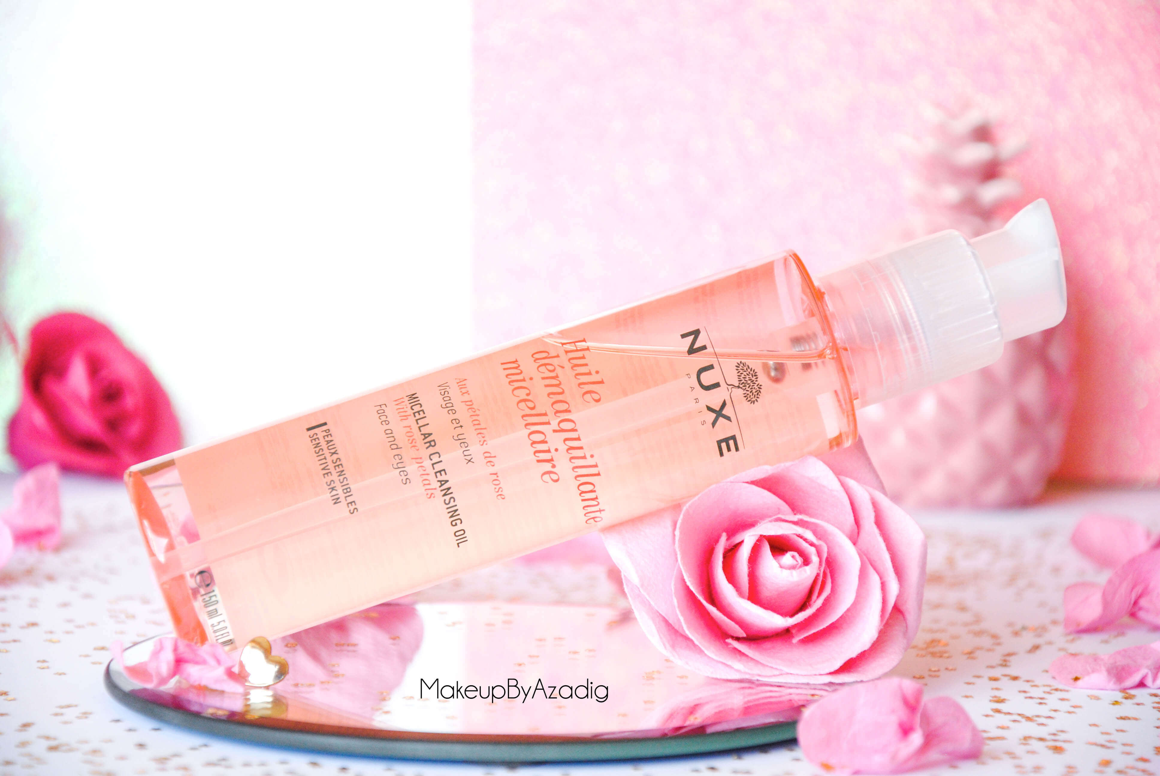 makeupbyazadig-huile-demaquillante-micellaire-nuxe-petales-de-rose-doctipharma-revue-avis-prix-visage