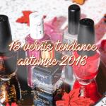 18 vernis tendance 2016-2017