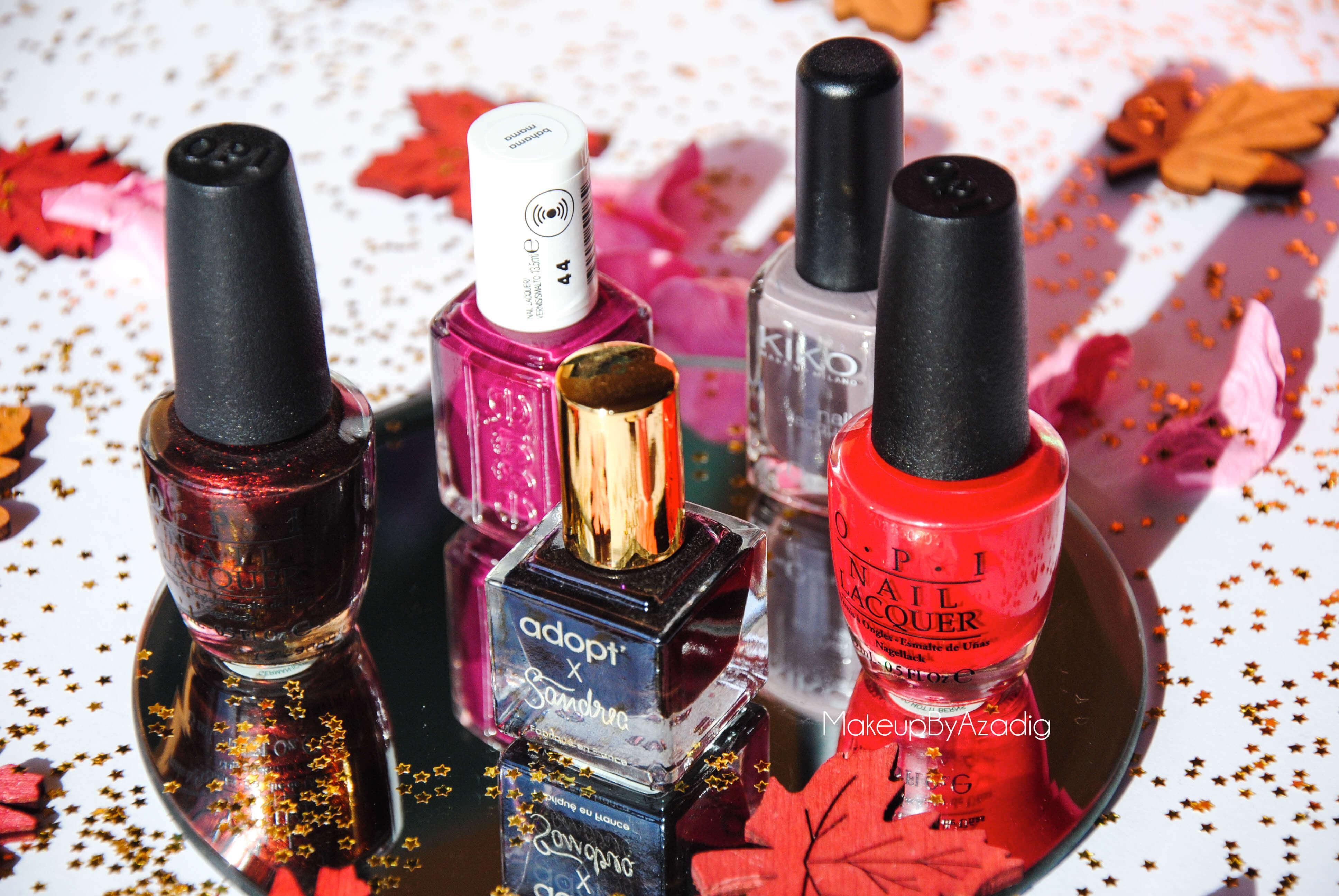 makeupbyazadig-vernis-tendance-automne-nails-autumn-formula-x-monop-makeup-troyes-dijon-paris-sandrea26france-camaieu-opi-kiko-sephora-mavala-essie-miniature-blog