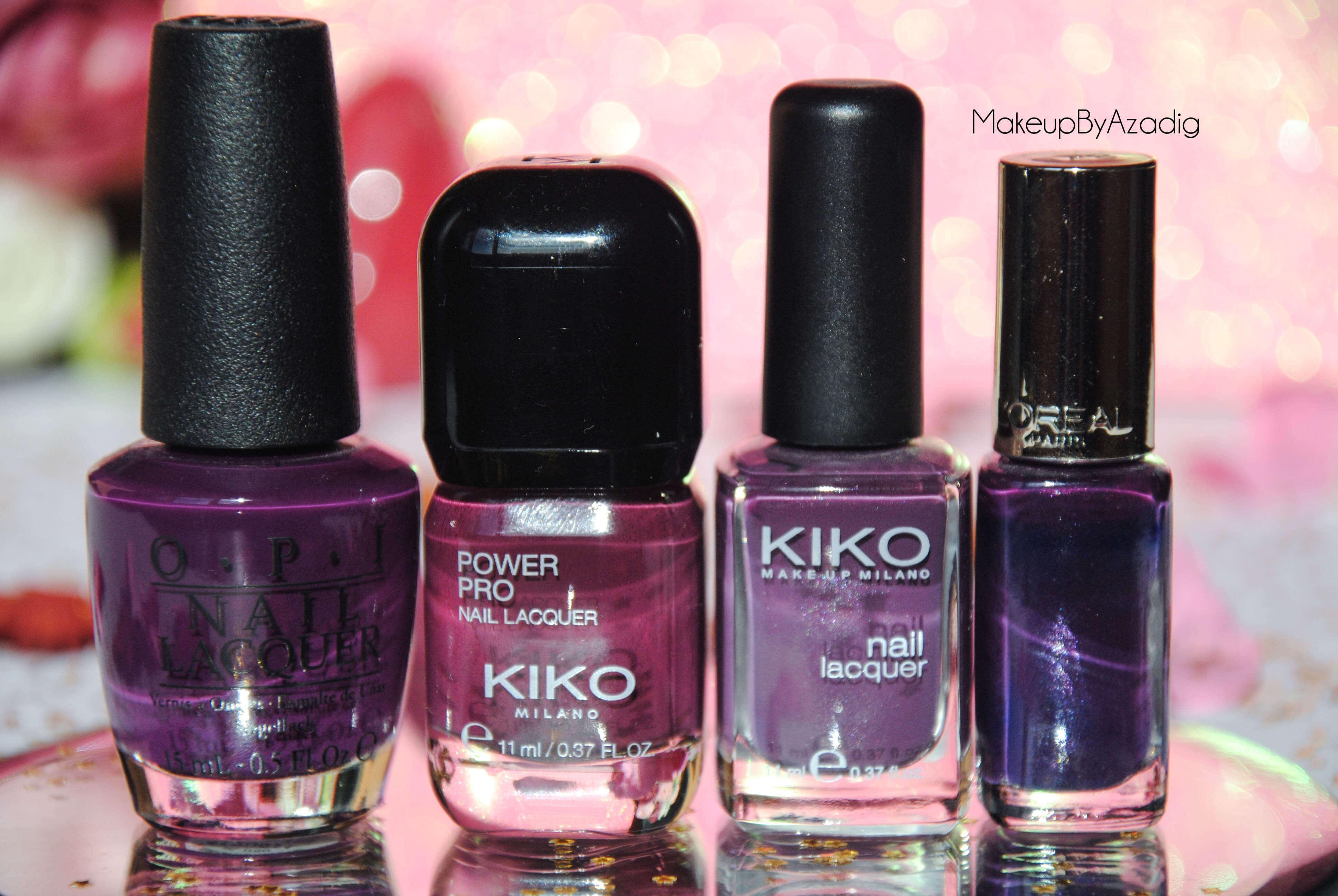 makeupbyazadig-vernis-tendance-automne-nails-autumn-formula-x-monop-makeup-troyes-dijon-paris-sandrea26france-camaieu-opi-kiko-sephora-mavala-essie-purple