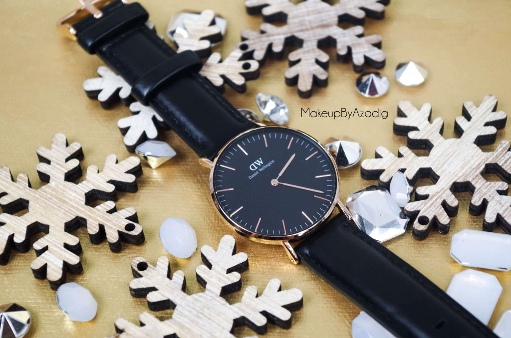 makeupbyazadig-daniel-wellington-montre-classic-black-sheffield-code-promo-troyes-paris-promotion