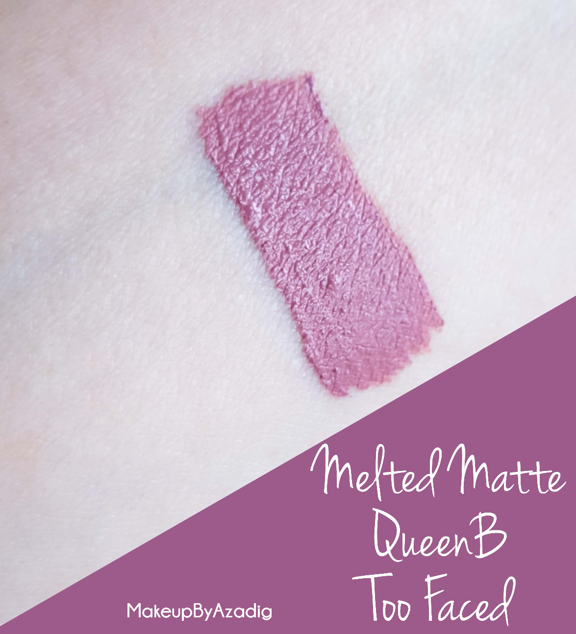 makeupbyazadig-melted-matte-queenb-bendandsnap-dropdeadred-too-faced-rouge-levres-revue-avis-prix-sephora-paris-blog-swatch