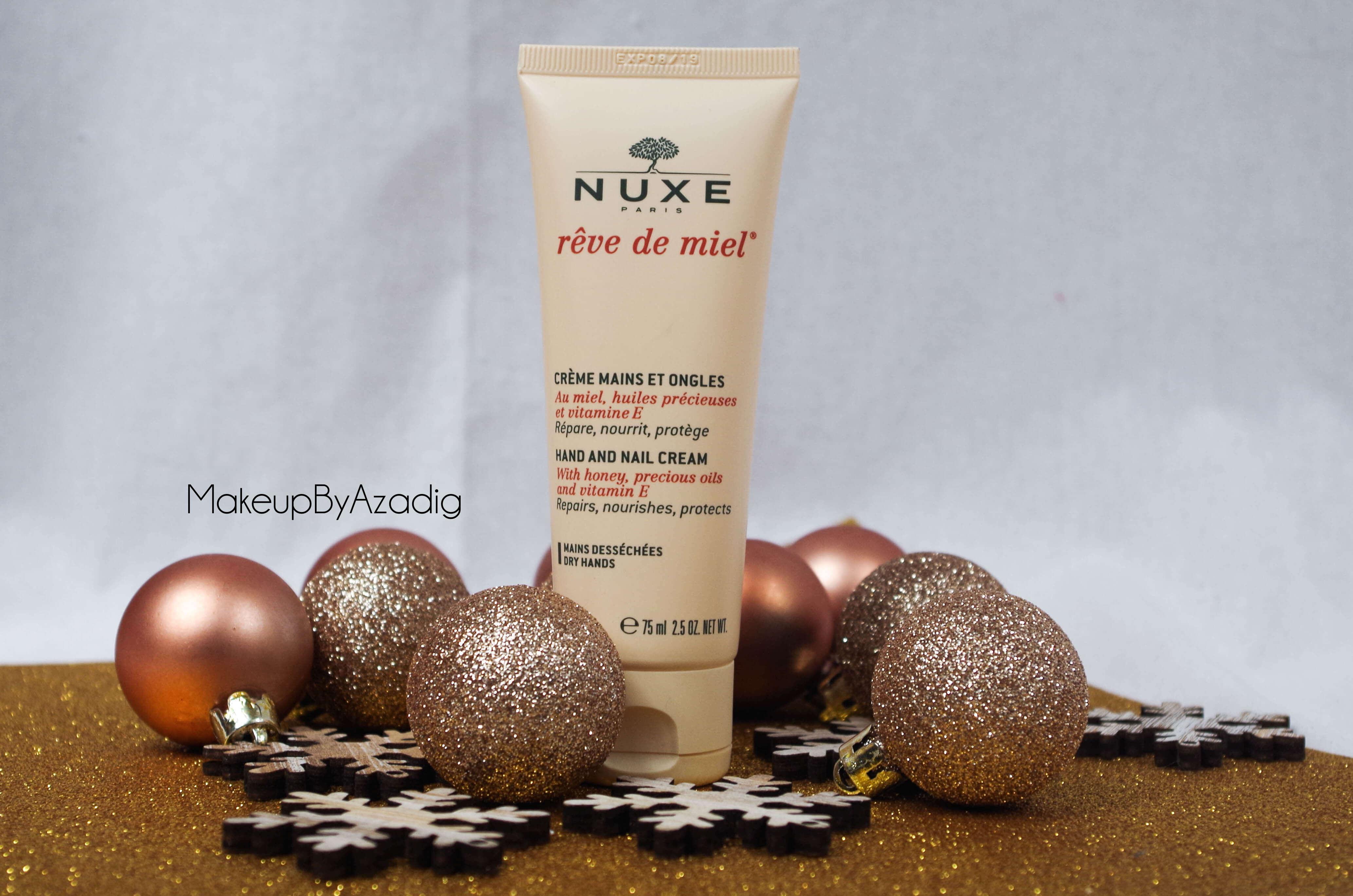revue-creme-mains-ongles-nuxe-paris-blog-troyes-makeupbyazadig-reve-de-miel-monoprix