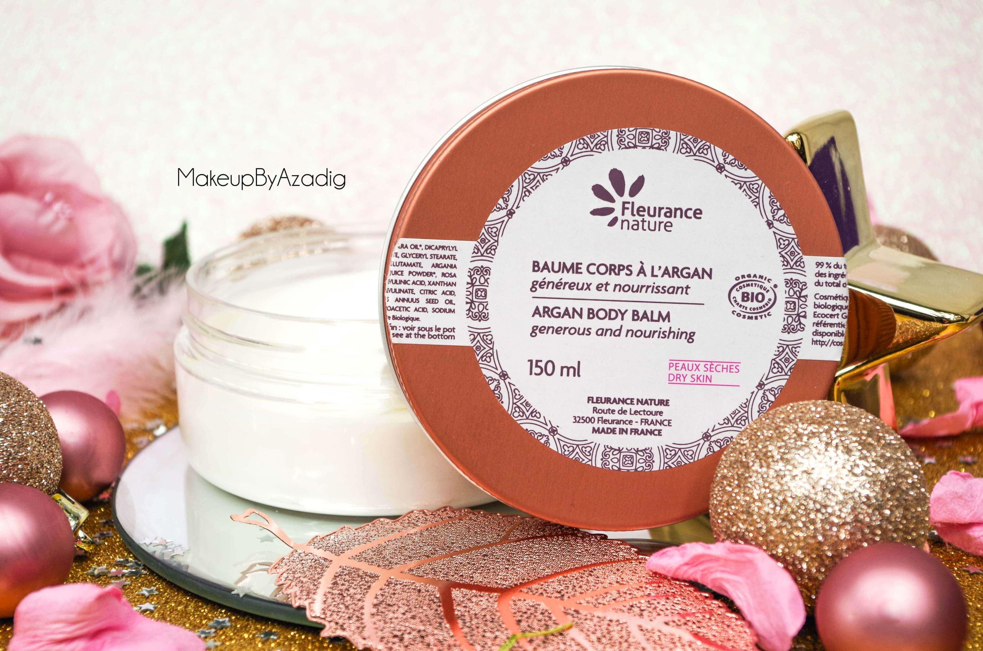 miniature-baume-corps-argan-fleurance-nature-cosmetique-bio-makeupbyazadig-paris-avis-revue-troyes-blog-peaux seches-2