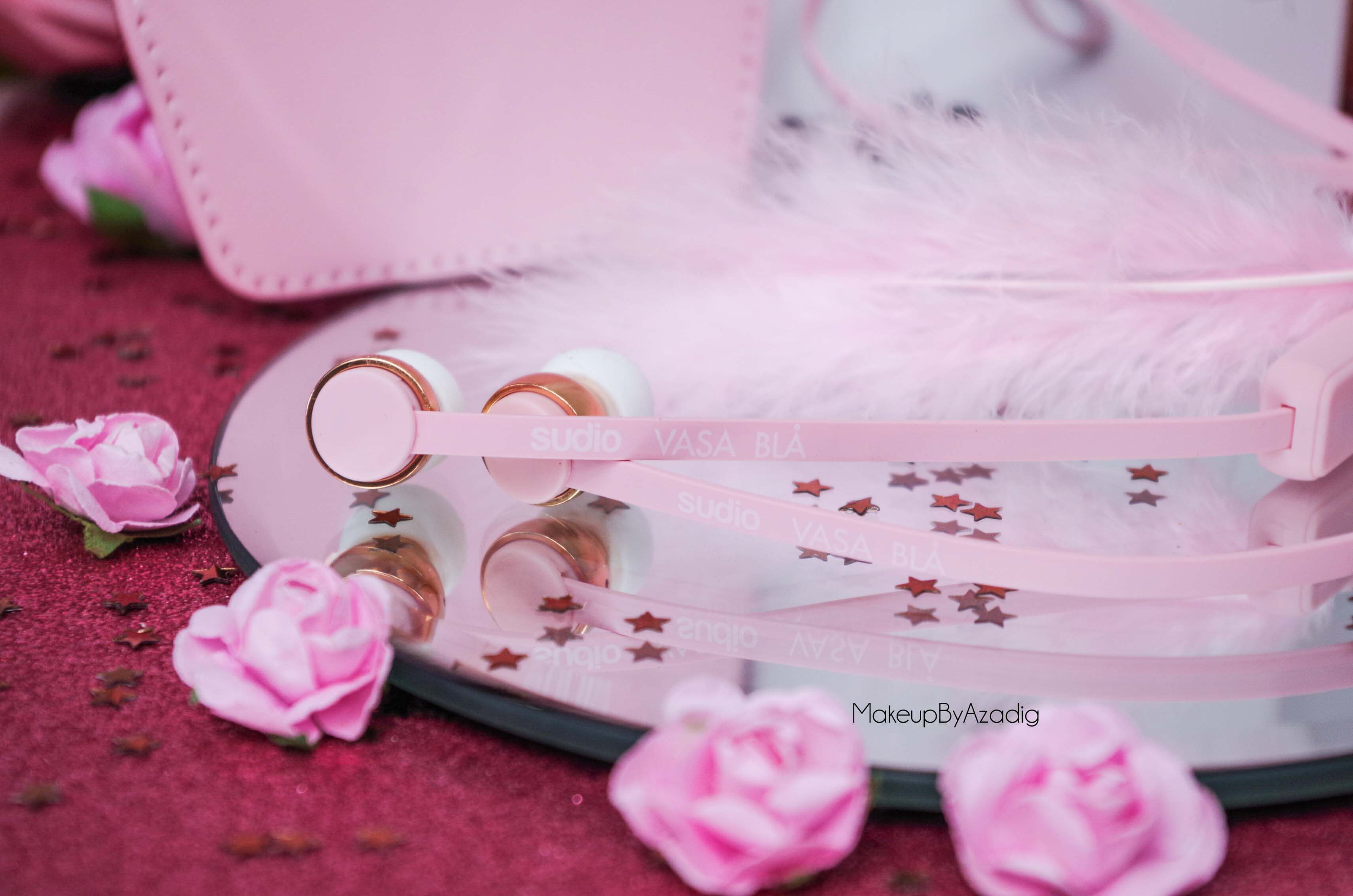 ecouteurs-casque-sans-fil-bluetooth-design-tendance-sudio-sweden-rose-vasa-bla-makeupbyazadig-avis-prix-pink