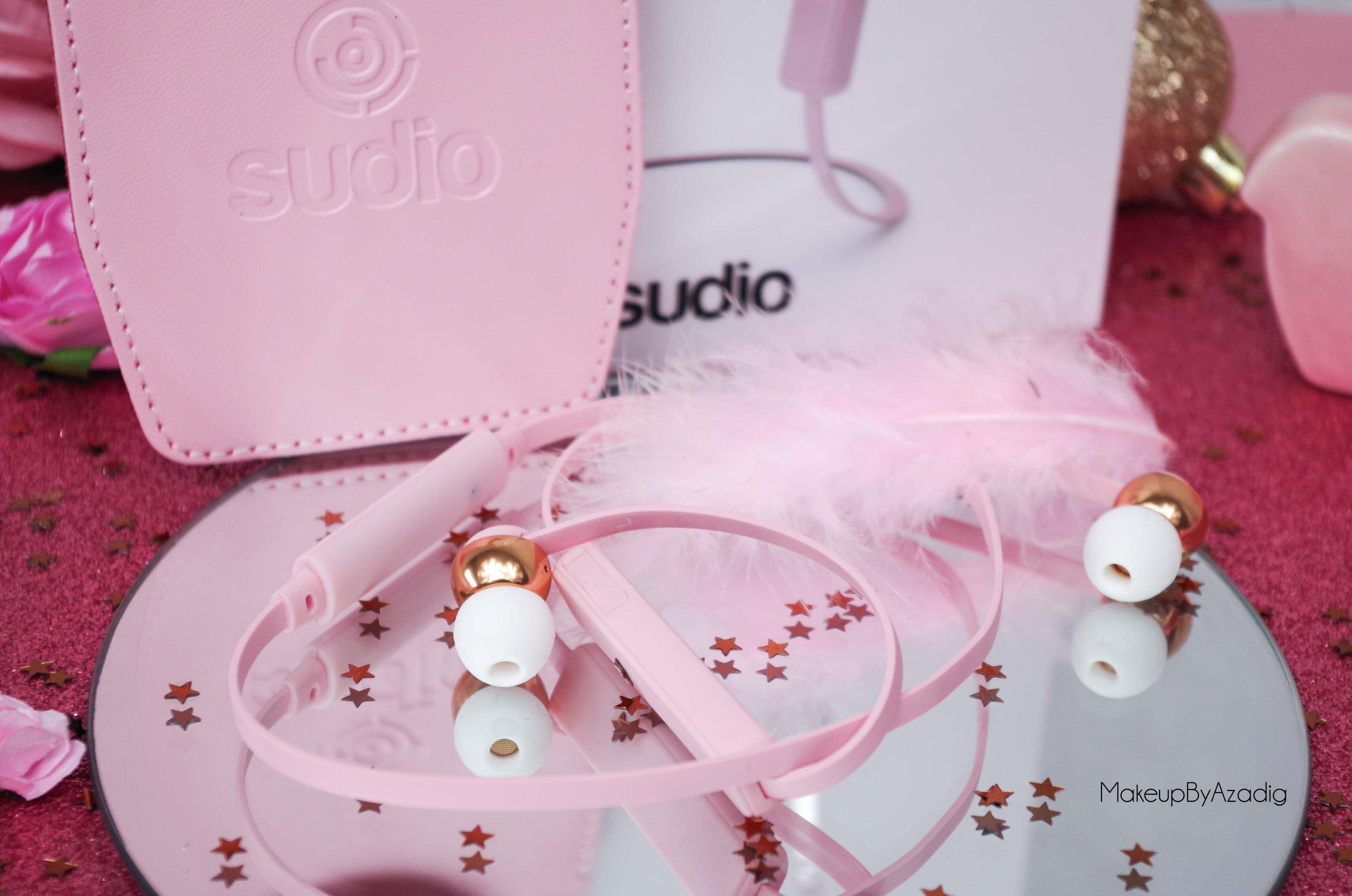 ecouteurs-casque-sans-fil-bluetooth-design-tendance-sudio-sweden-rose-vasa-bla-makeupbyazadig-avis-prix-plume