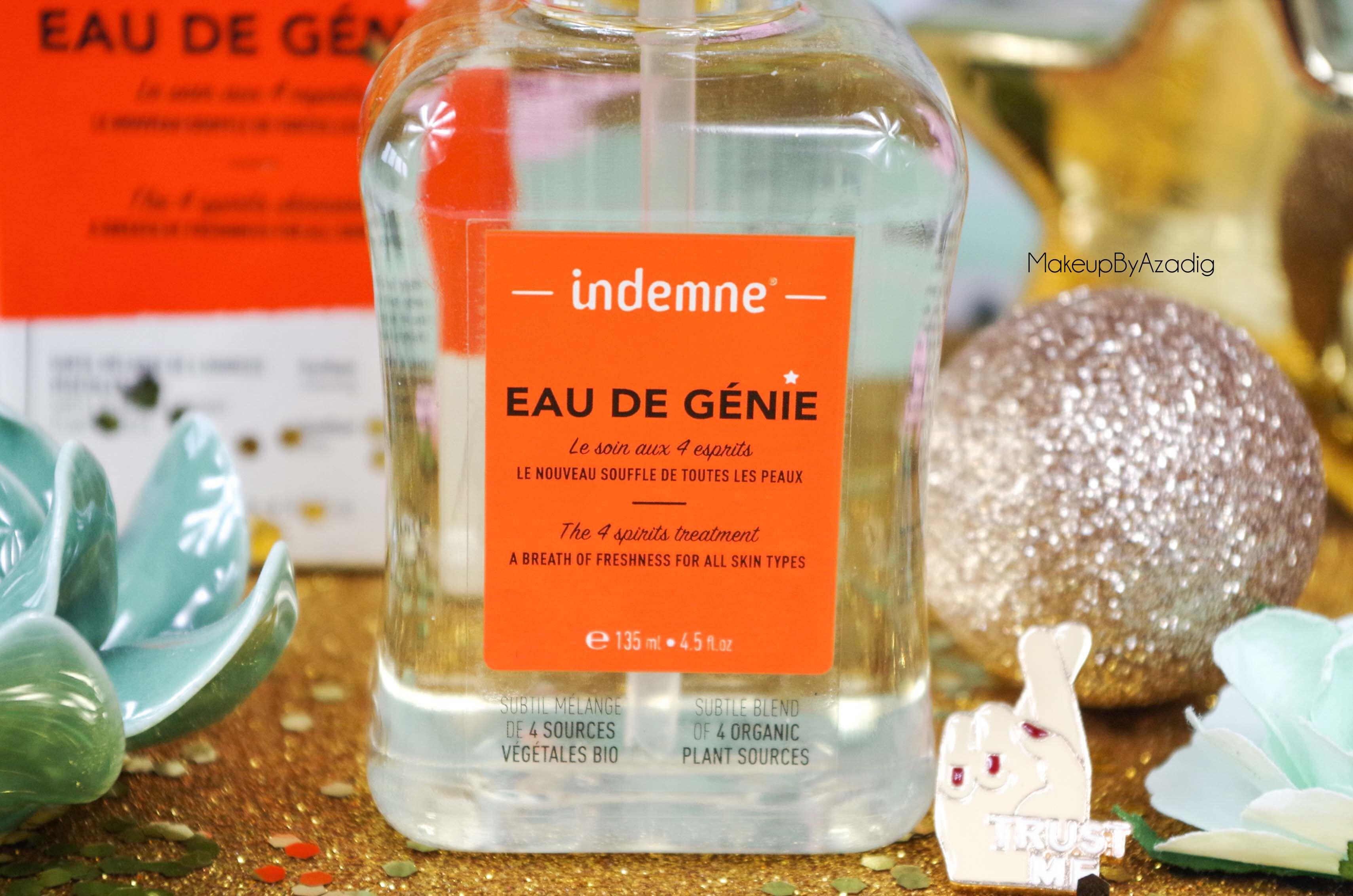 review-lotion-tonique-eau-de-genie-indemne-france-avis-prix-cosmetique-bio-produit-naturel-makeupbyazadig-trust