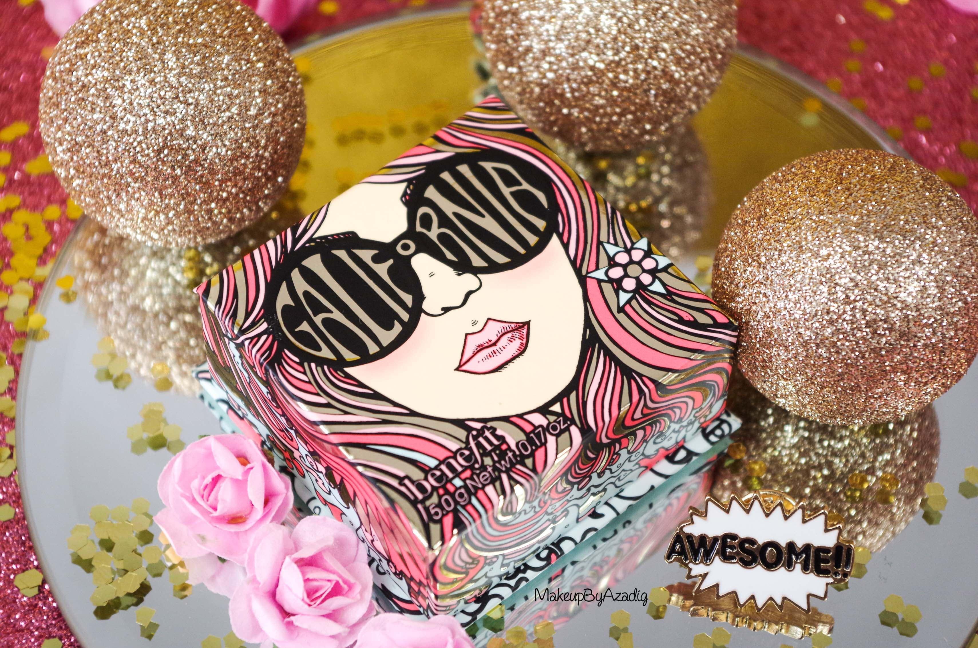 california-revue-review-blush-benefit-galifornia-san-francisco-sunny-golden-pink-blush-avis-prix-sephora-makeupbyazadig-coachella