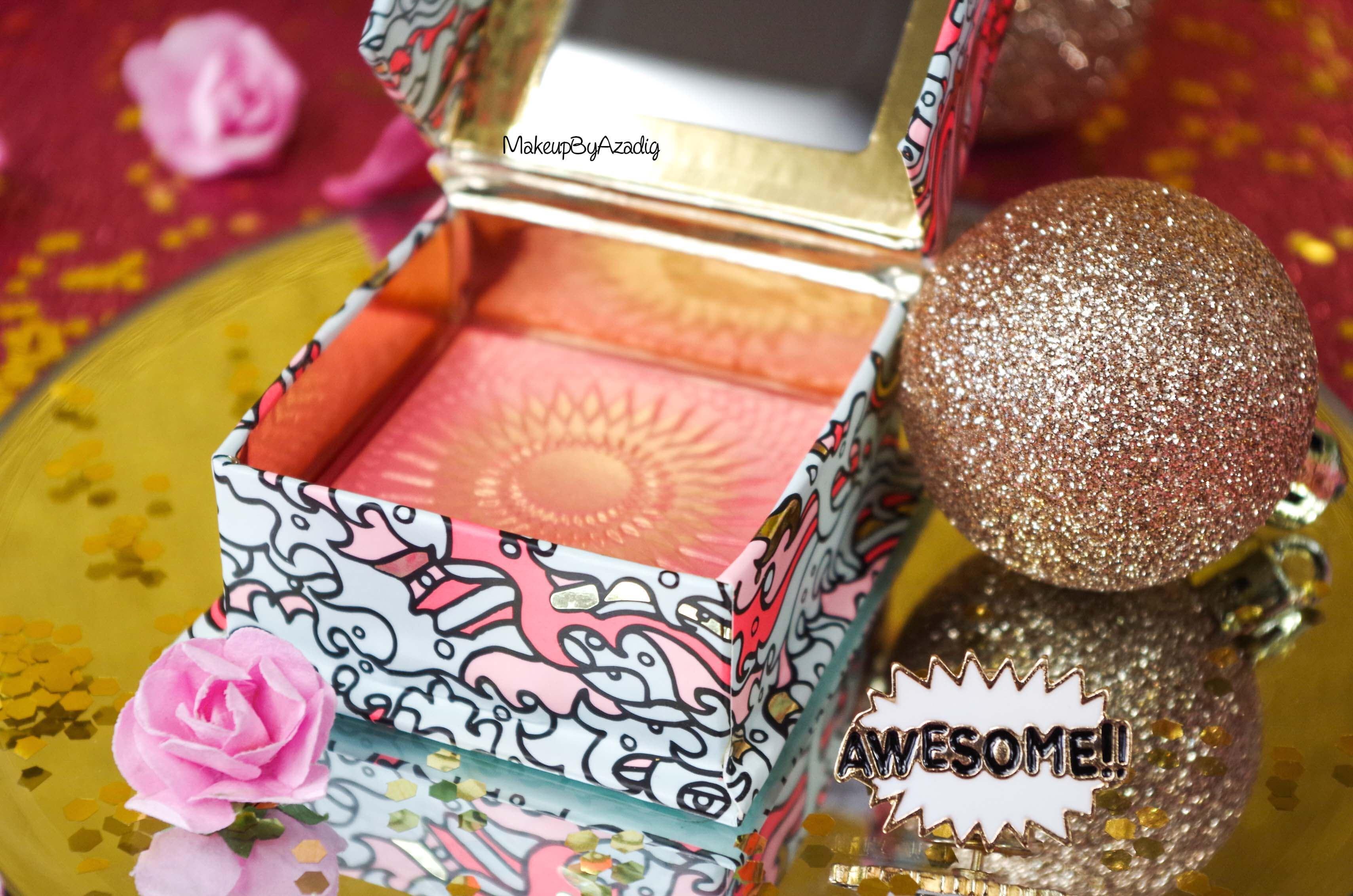 influencer-revue-review-blush-benefit-galifornia-san-francisco-sunny-golden-pink-blush-avis-prix-sephora-makeupbyazadig-coachella