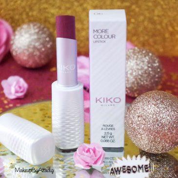 miniature-revue-rouge-levres-kiko-cosmetics-more-colour-lipstick-avis-swatch-prix-troyes-blog-review-makeupbyazadig-milano-freedom-mauve