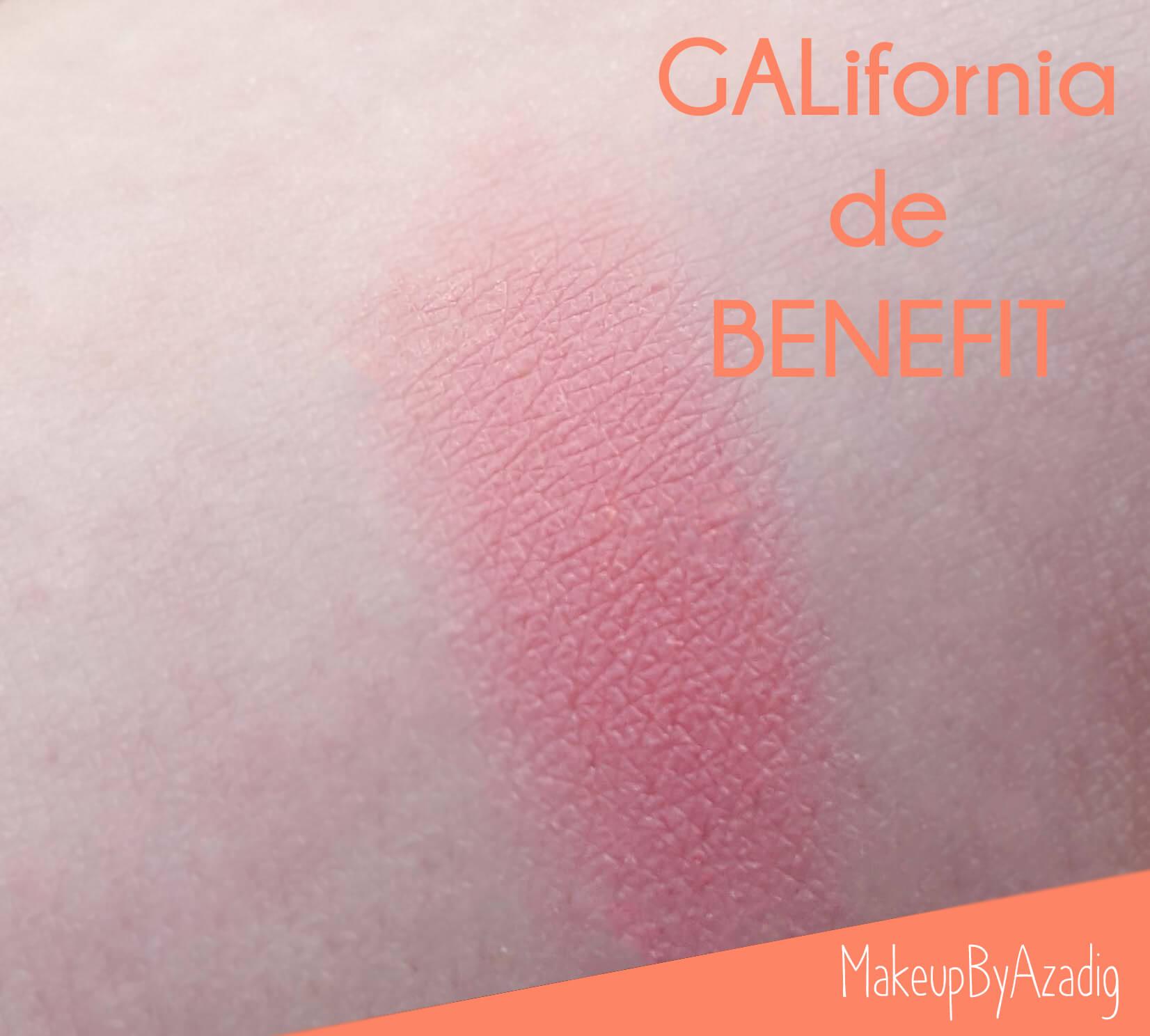 swatch-influencer-revue-review-blush-benefit-galifornia-san-francisco-sunny-golden-pink-blush-avis-prix-sephora-makeupbyazadig-coachella