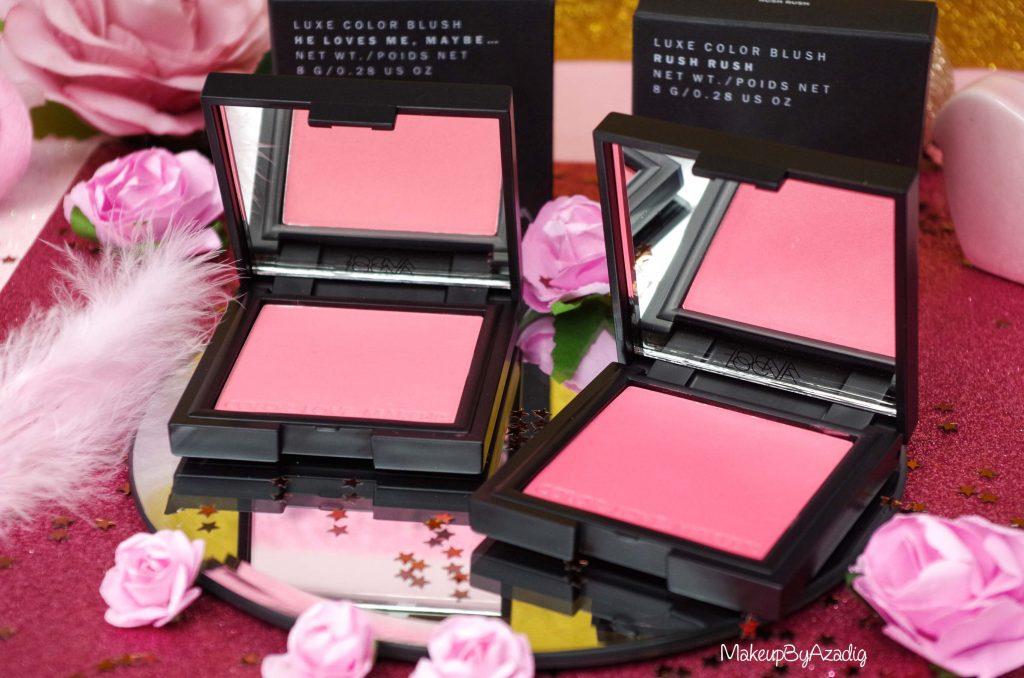 Luxe Color Blush de Zoeva