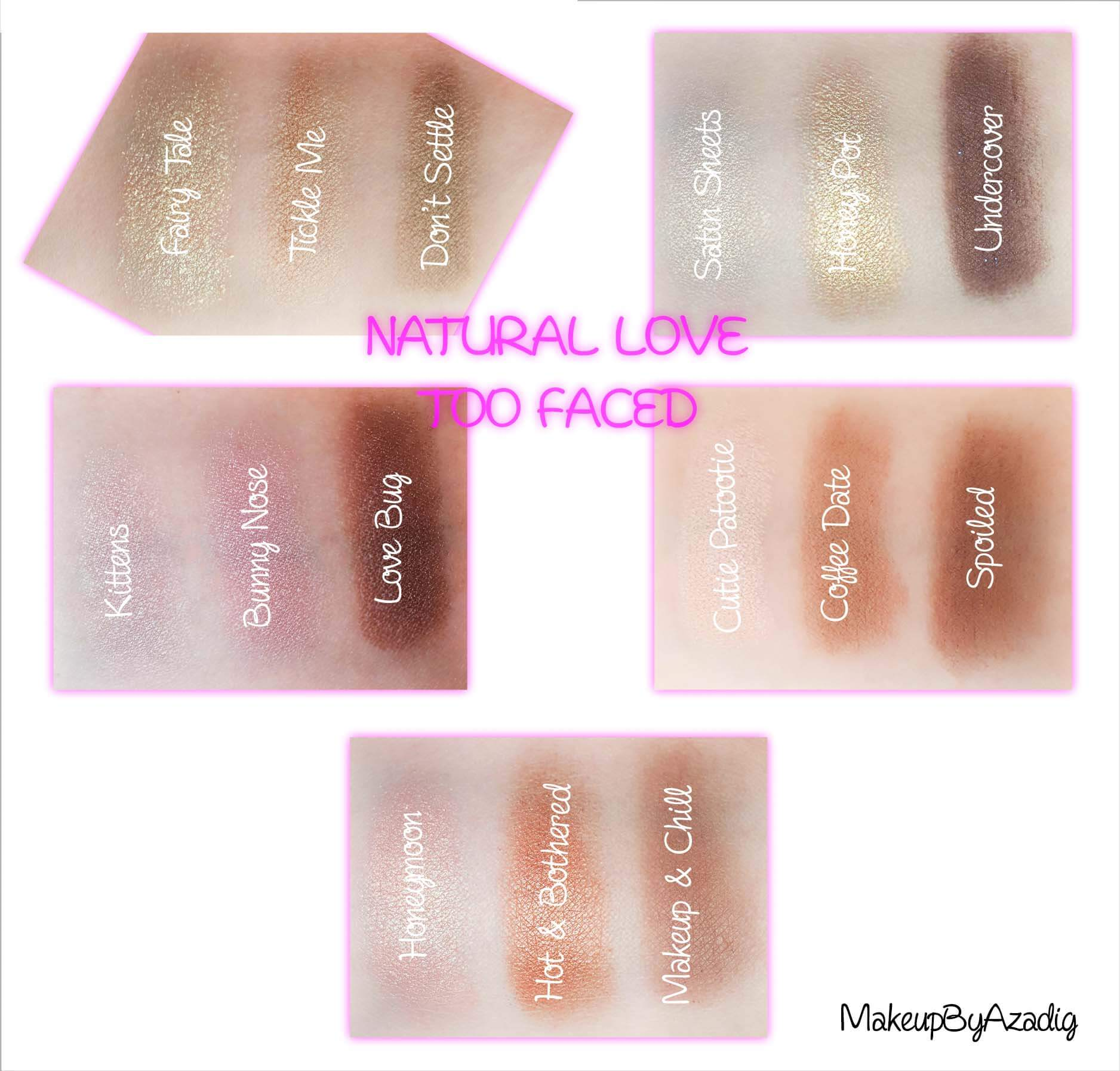revue-review-palette-natural-love-too-faced-usa-france-disponible-sephora-blog-makeupbyazadig-avis-swatch-prix