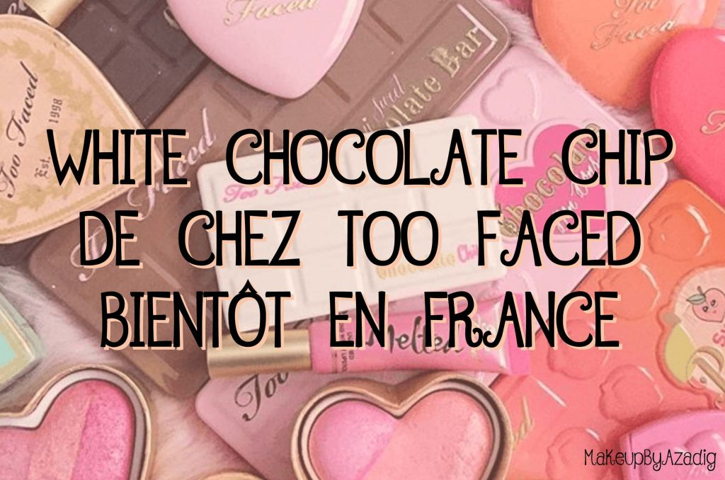 Palette «White Chocolate Chip» de Too Faced