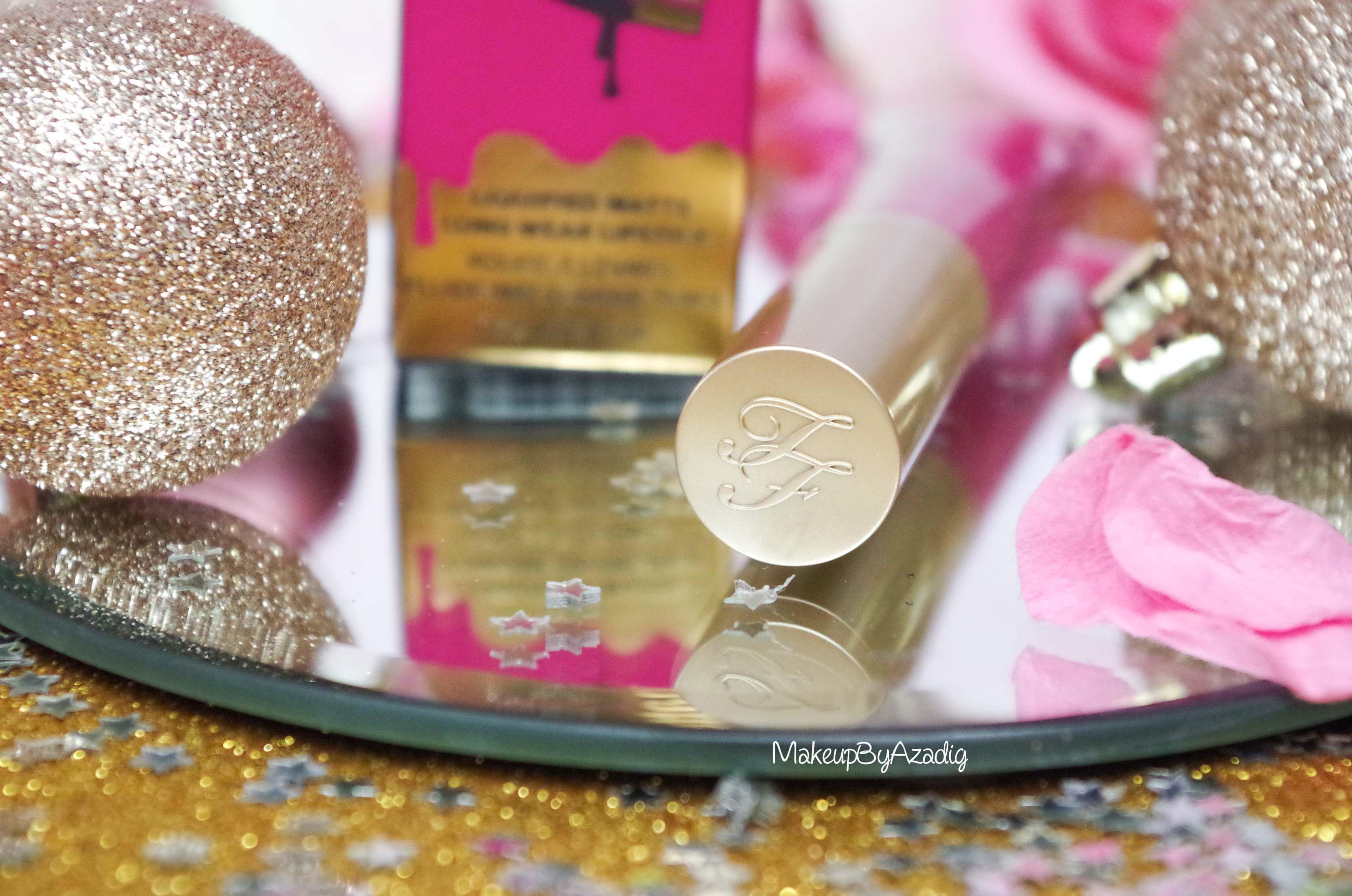 makeupbyazadig-melted-matte-queenb-bendandsnap-influencer-too-faced-rouge-levres-revue-avis-prix-sephora-paris-blog-liquide-TF