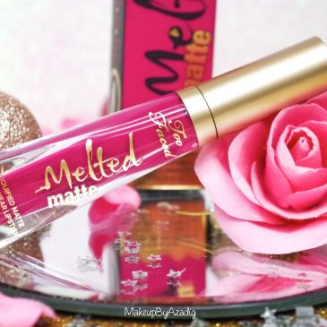 miniature-makeupbyazadig-melted-matte-queenb-bendandsnap-influencer-too-faced-rouge-levres-revue-avis-prix-sephora-paris-blog-liquide