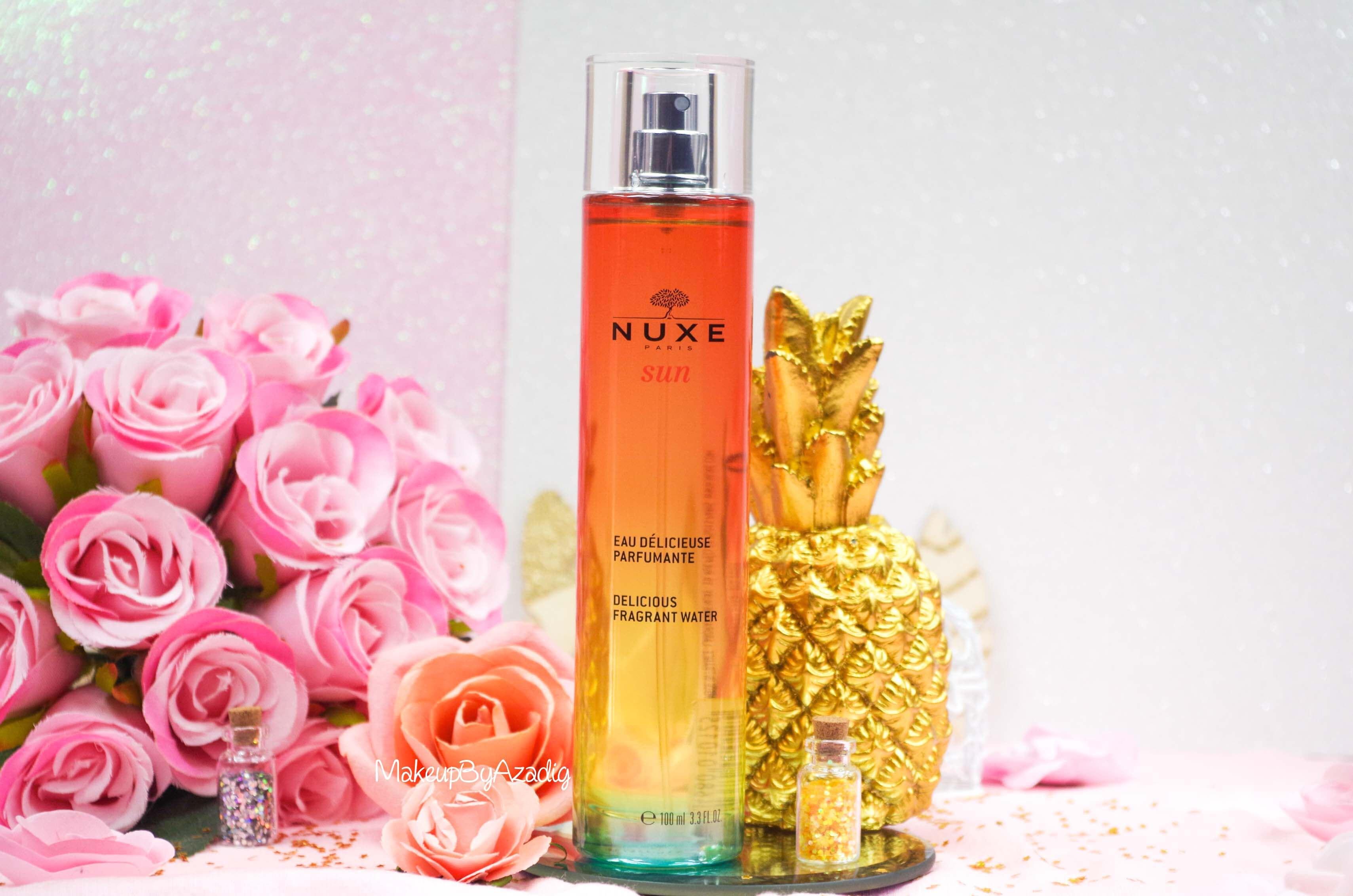 revue-review-eau-delicieuse-parfumante-nuxe-sun-paris-blog-makeupbyazadig-monoi-soleil-parapharmacie-miniature