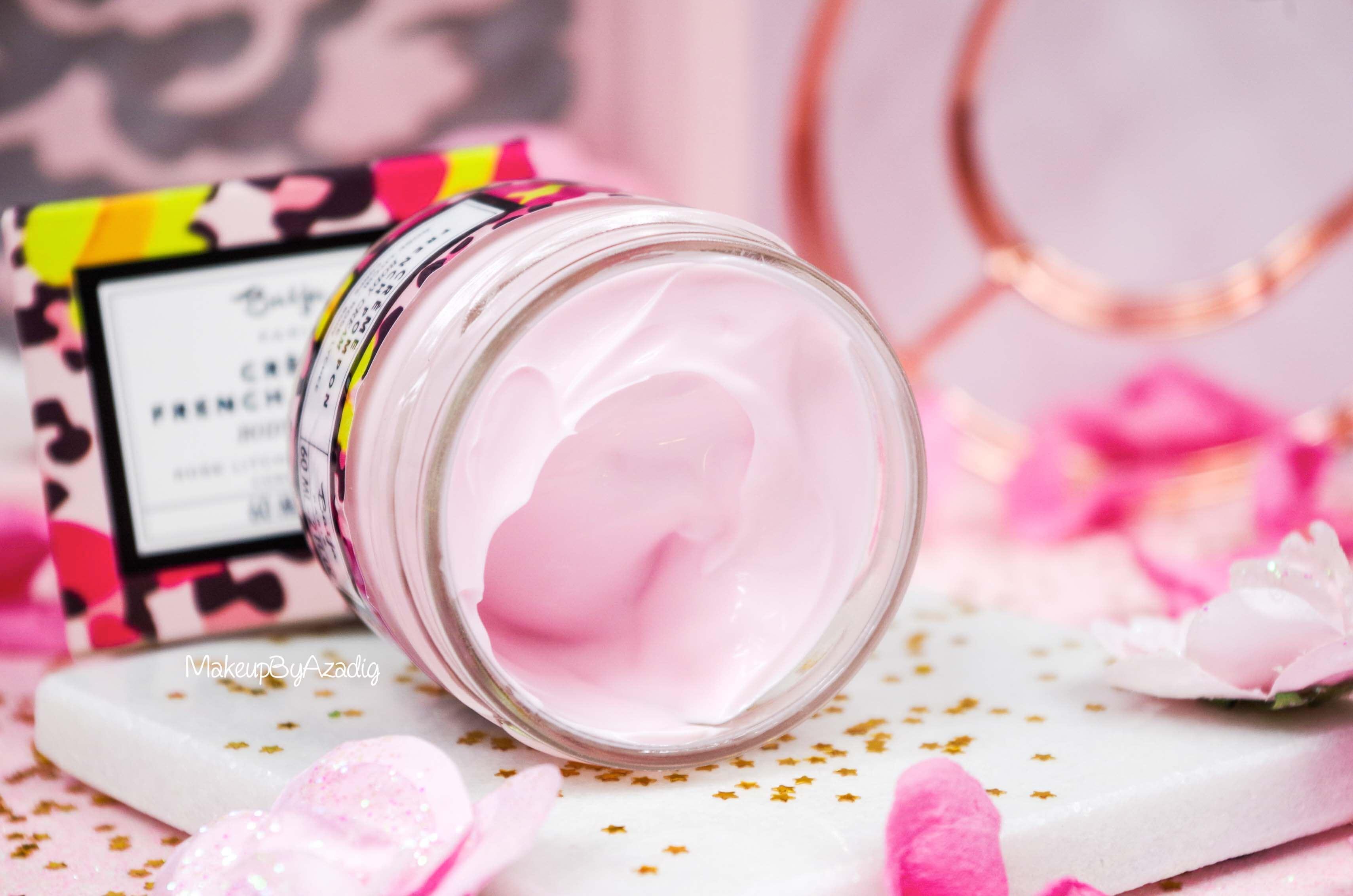 creme-corps-cream-body-french-pompon-baija-rose-litchi-sephora-makeupbyazadig-revue-prix-avis-onctueux