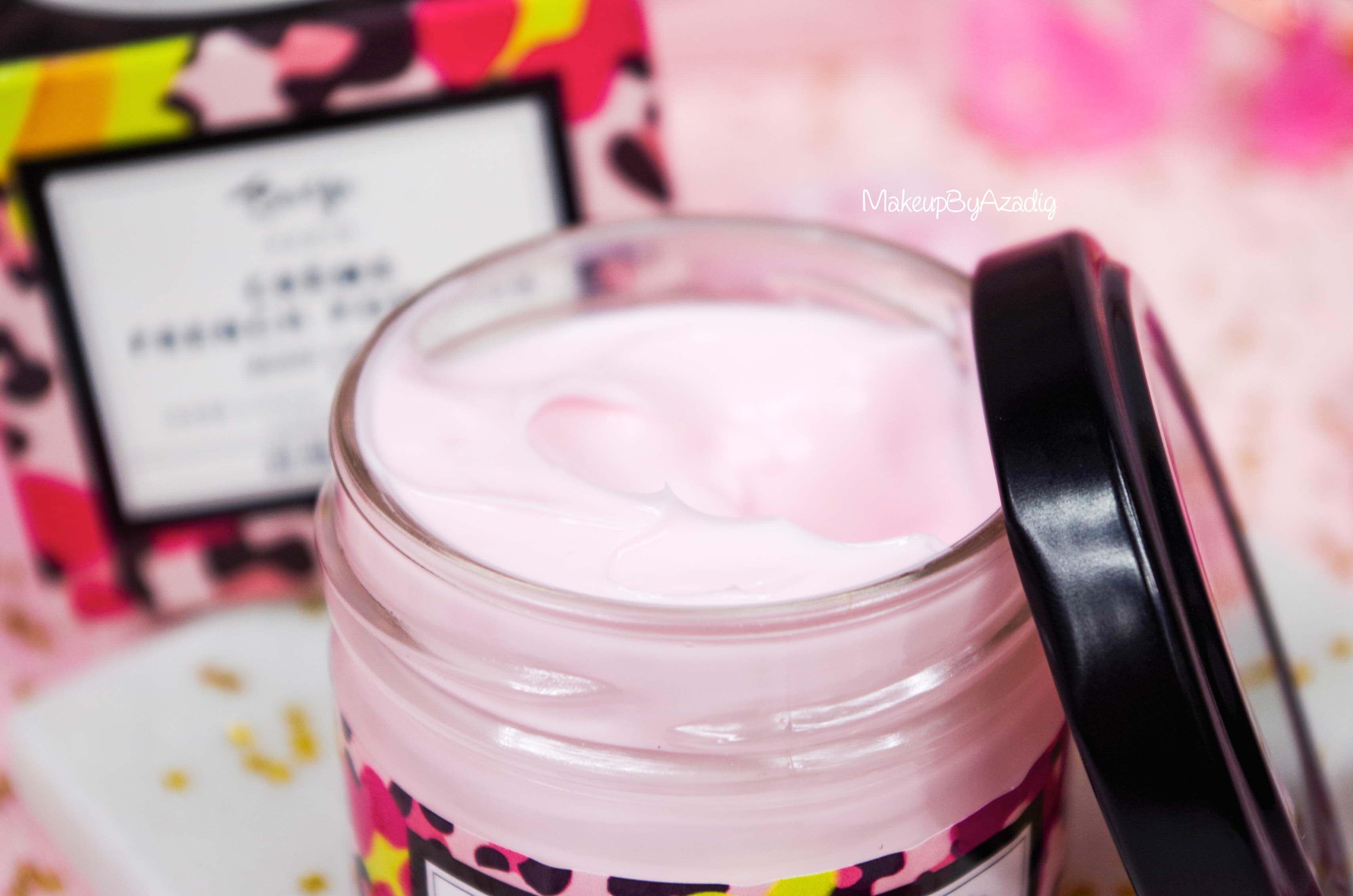 creme-corps-cream-body-french-pompon-baija-rose-litchi-sephora-makeupbyazadig-revue-prix-avis-texture