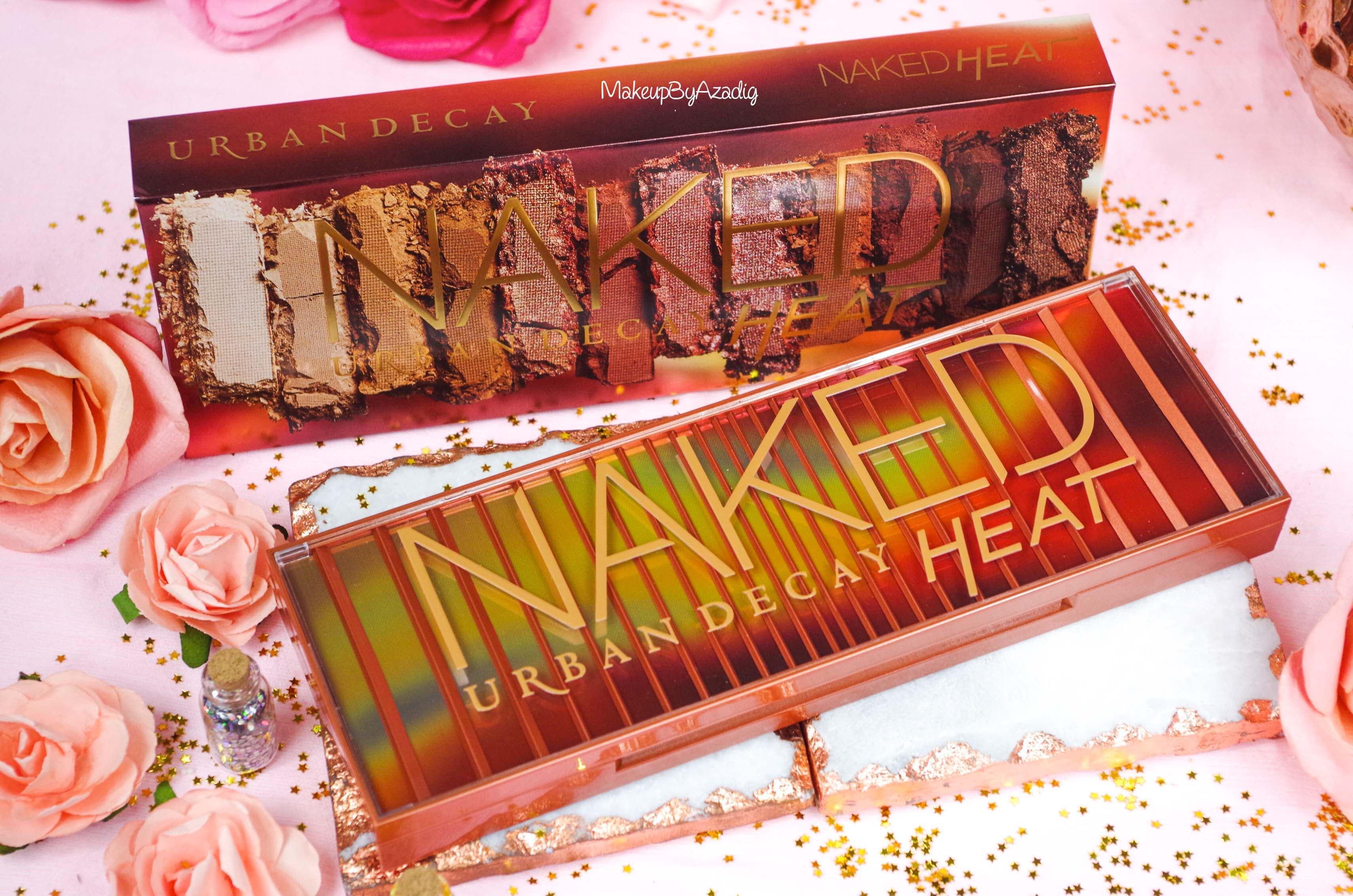 revue-review-nouvelle-palette-naked-heat-urban-decay-sephora-avis-prix-france-makeupbyazadig-swatch-chauds