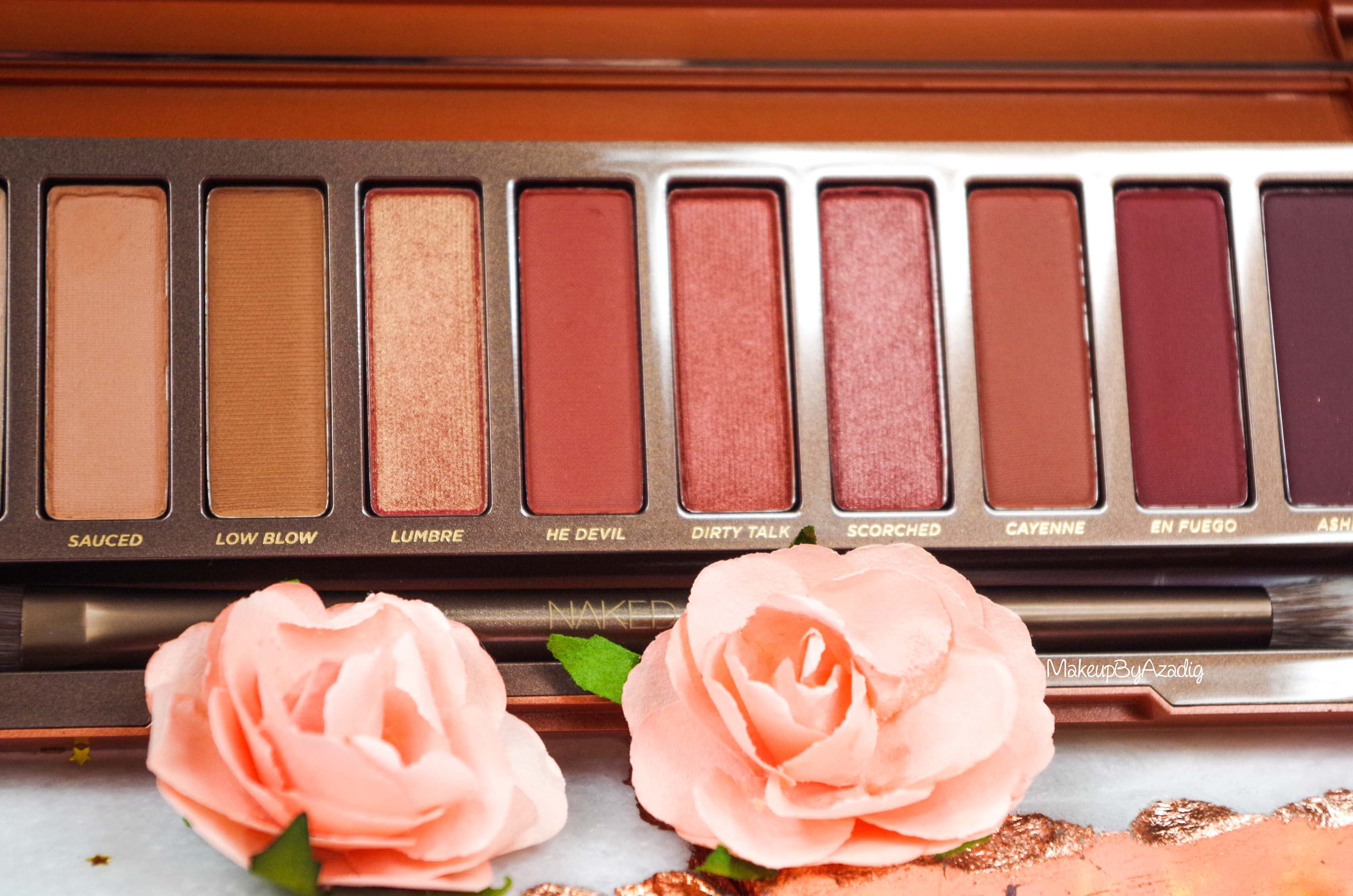 revue-review-nouvelle-palette-naked-heat-urban-decay-sephora-avis-prix-france-makeupbyazadig-swatch-colors