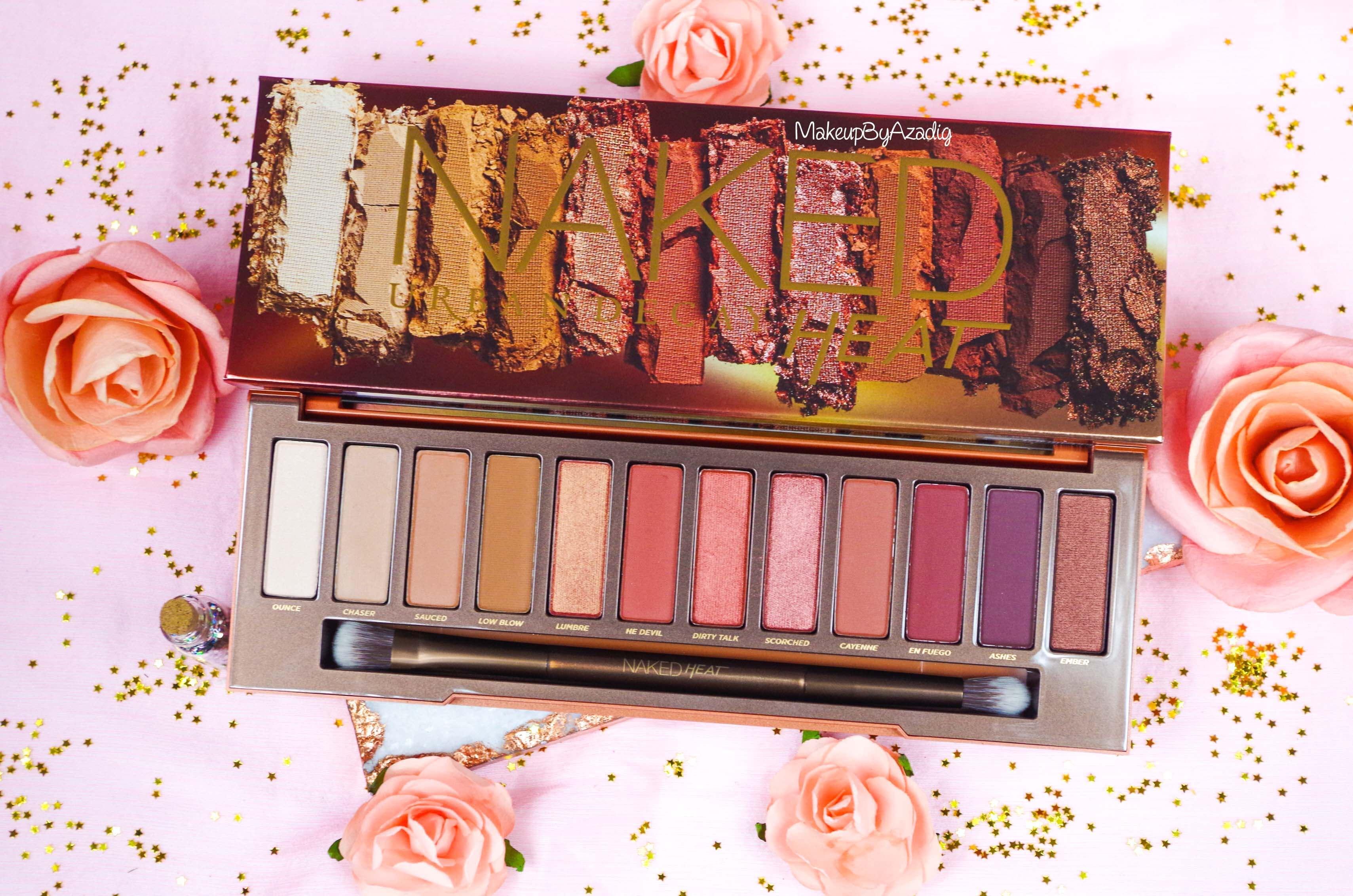 revue-review-nouvelle-palette-naked-heat-urban-decay-sephora-avis-prix-france-makeupbyazadig-swatch-eyeshadows