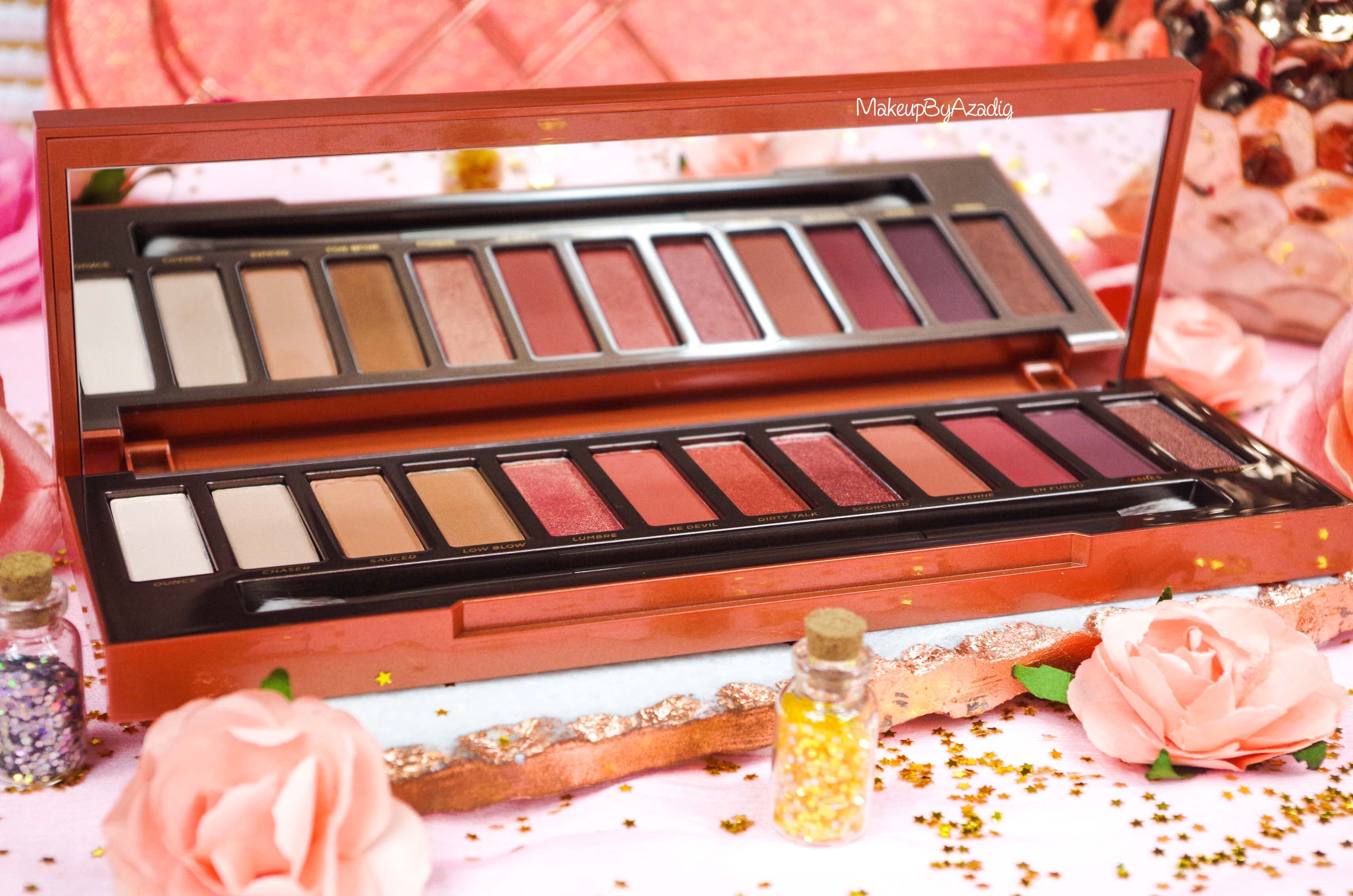 revue-review-nouvelle-palette-naked-heat-urban-decay-sephora-avis-prix-france-makeupbyazadig-swatch-hot